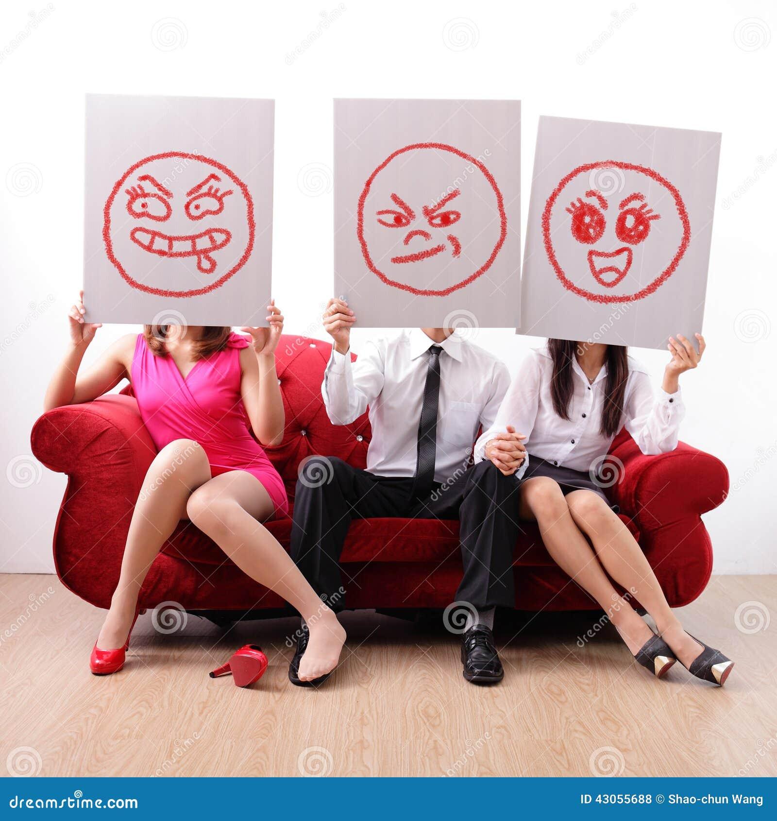 Extramarital affair and marital infidelity