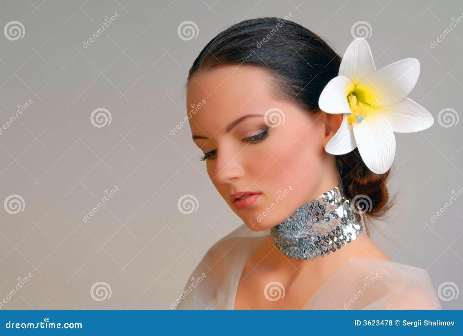 Extravagant Bride Stock Photo Image Of Image Face Coiffure 3623478