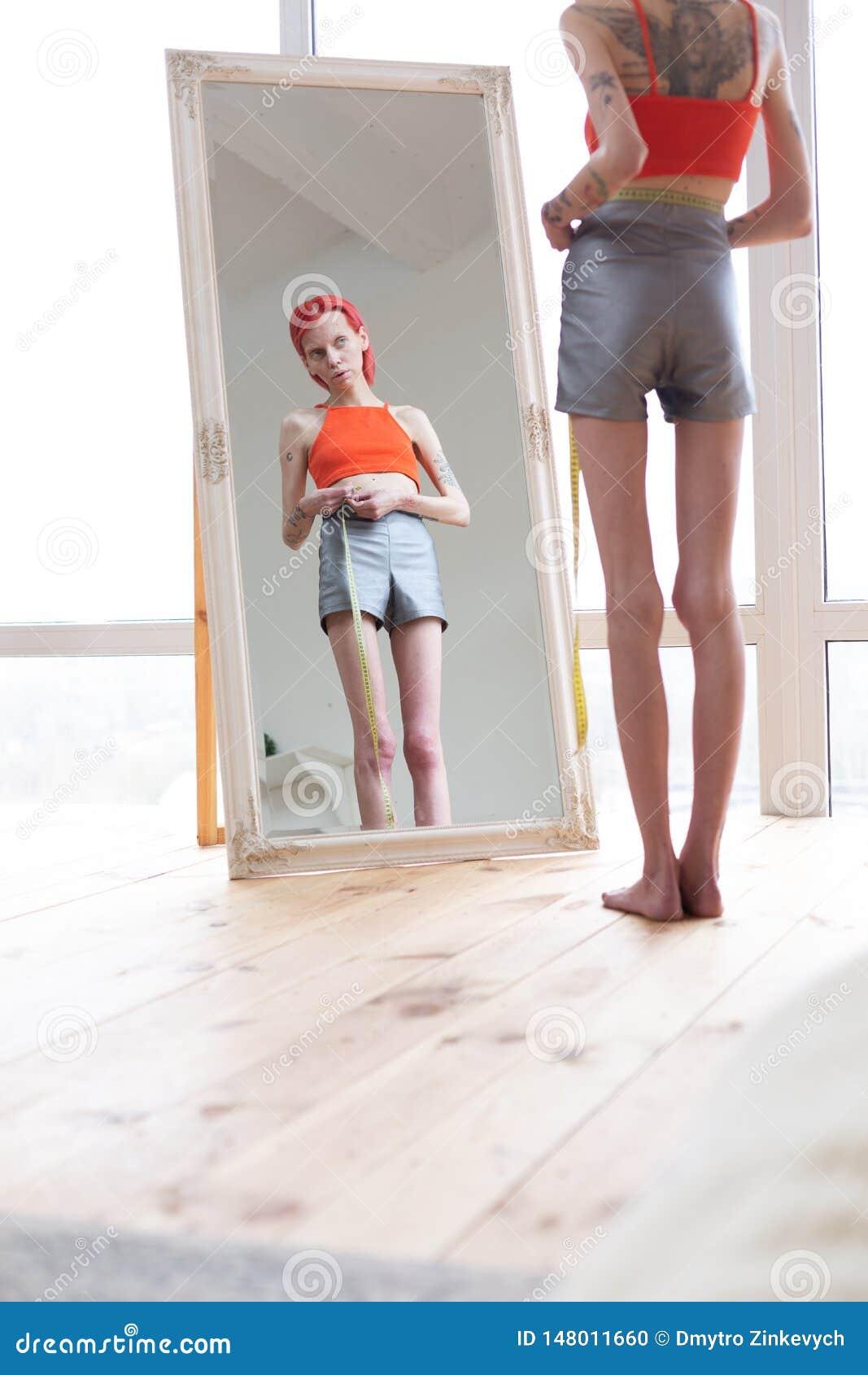 Extrem dünne menschen