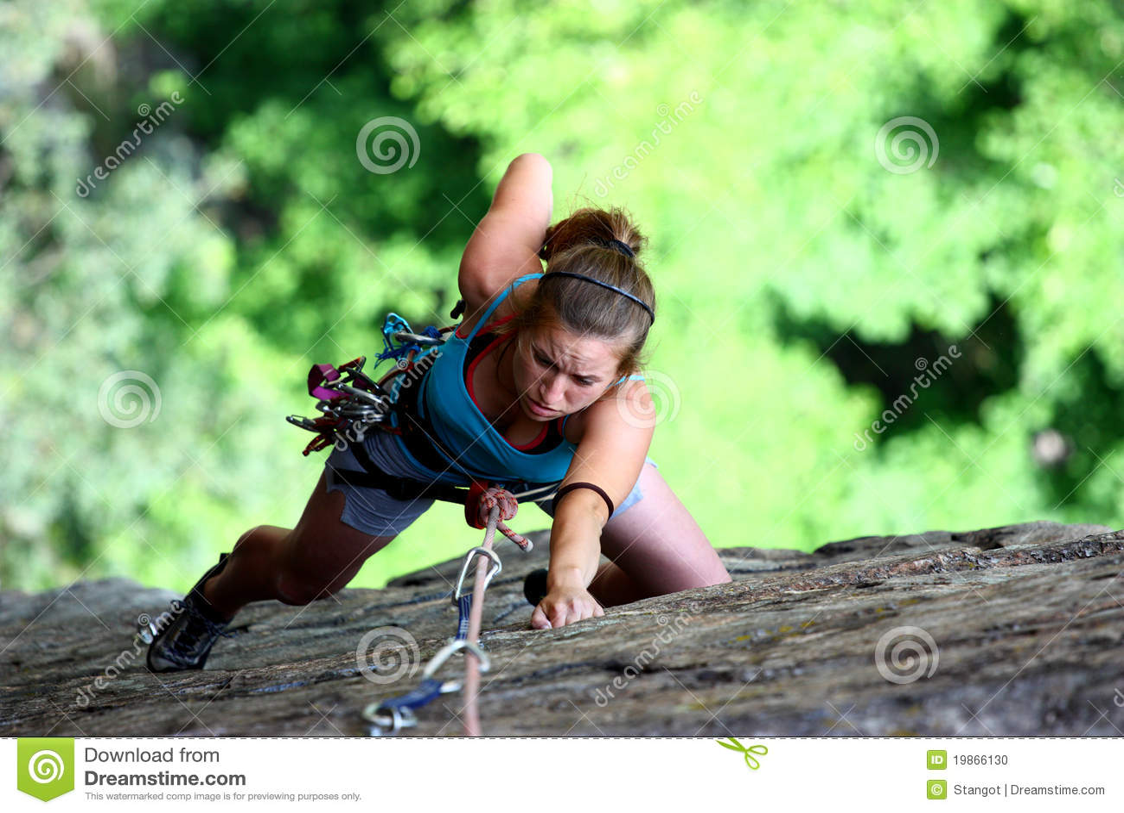 female extreme climber and - photo #26