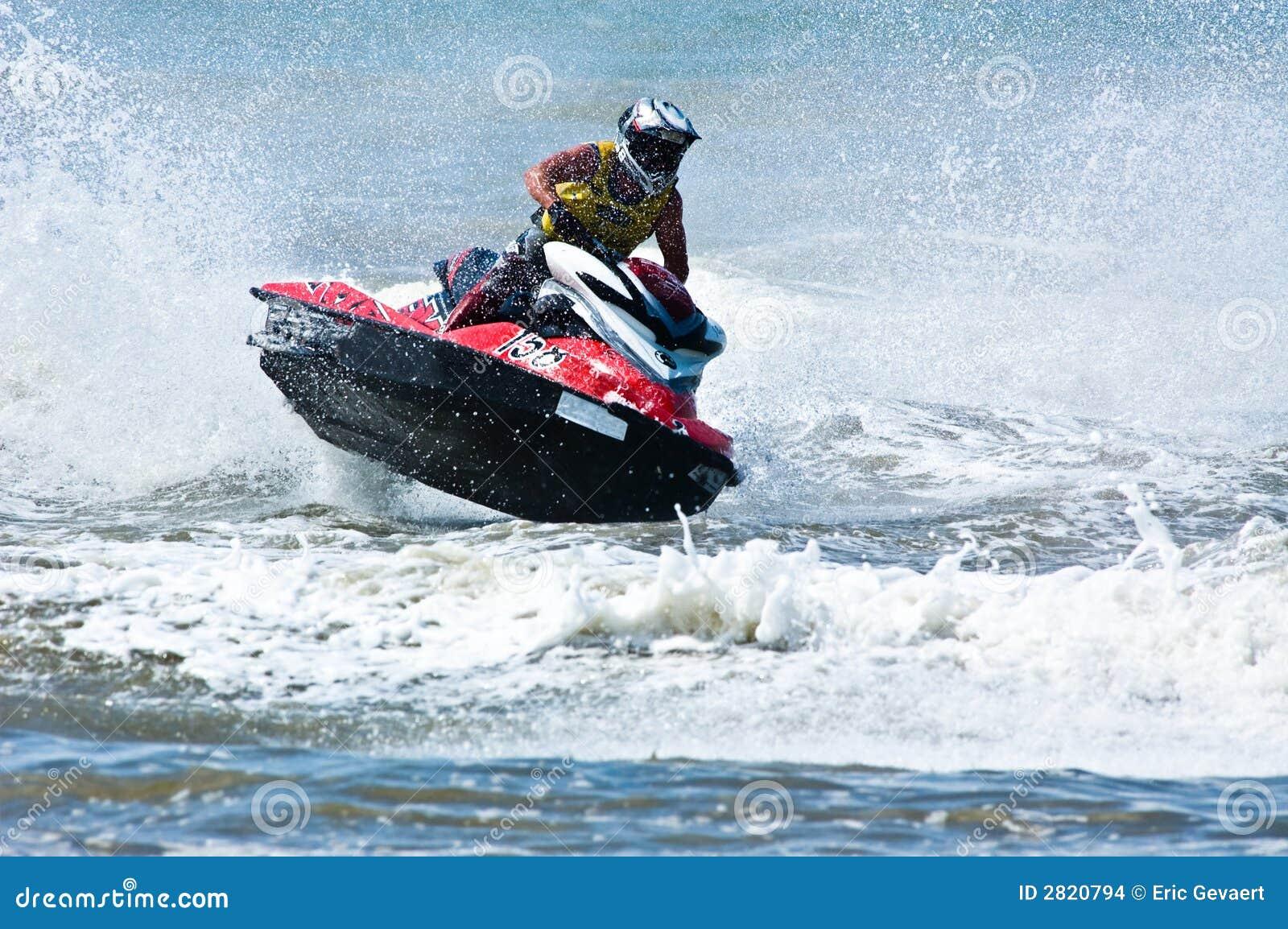 Extreme Jet Ski Watersports Stock Photo Image 2820794