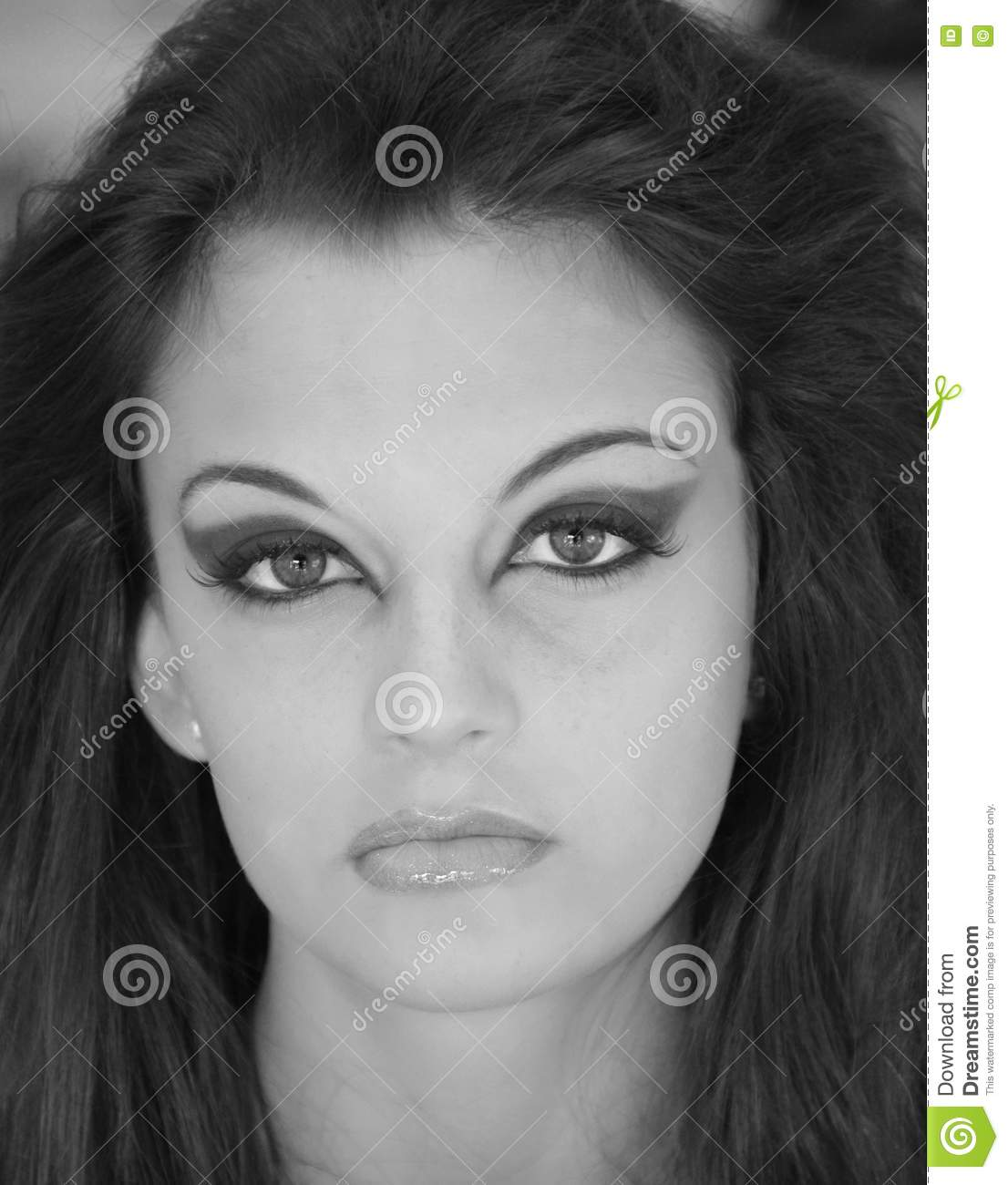Muticolored eye make up stock photo istock istock pt br ...