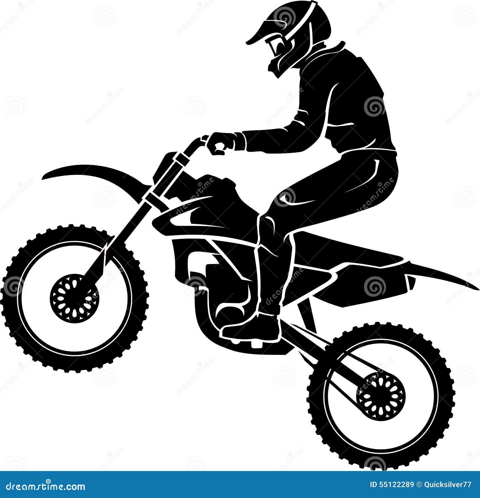 extreme motorcross exhibition stock vector image 55122289 motorcycle clipart free motorcycle clipart images harley