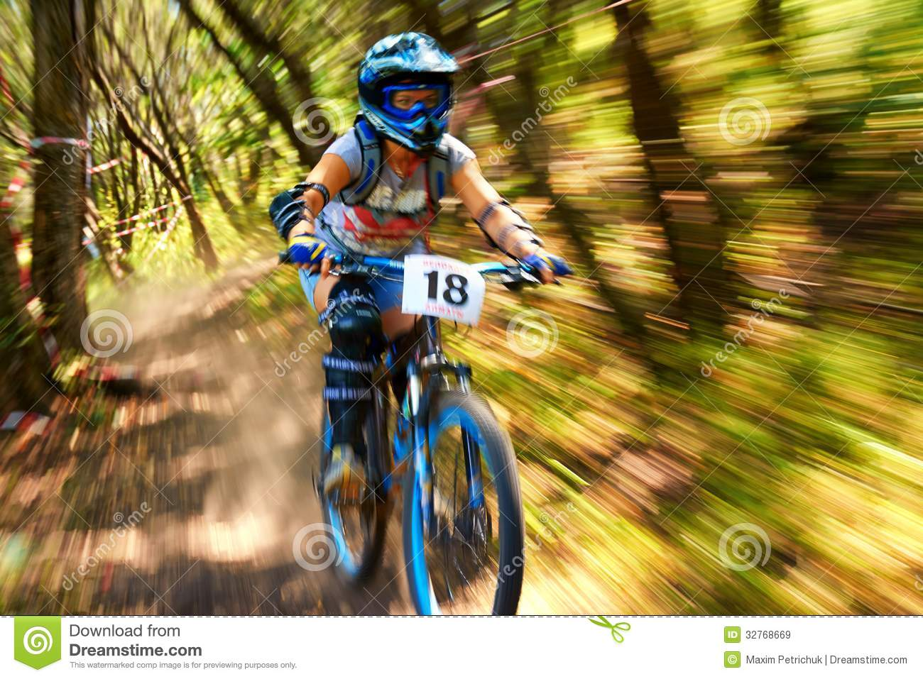 Extreme Mountain Bike Competition Editorial Stock Image ...