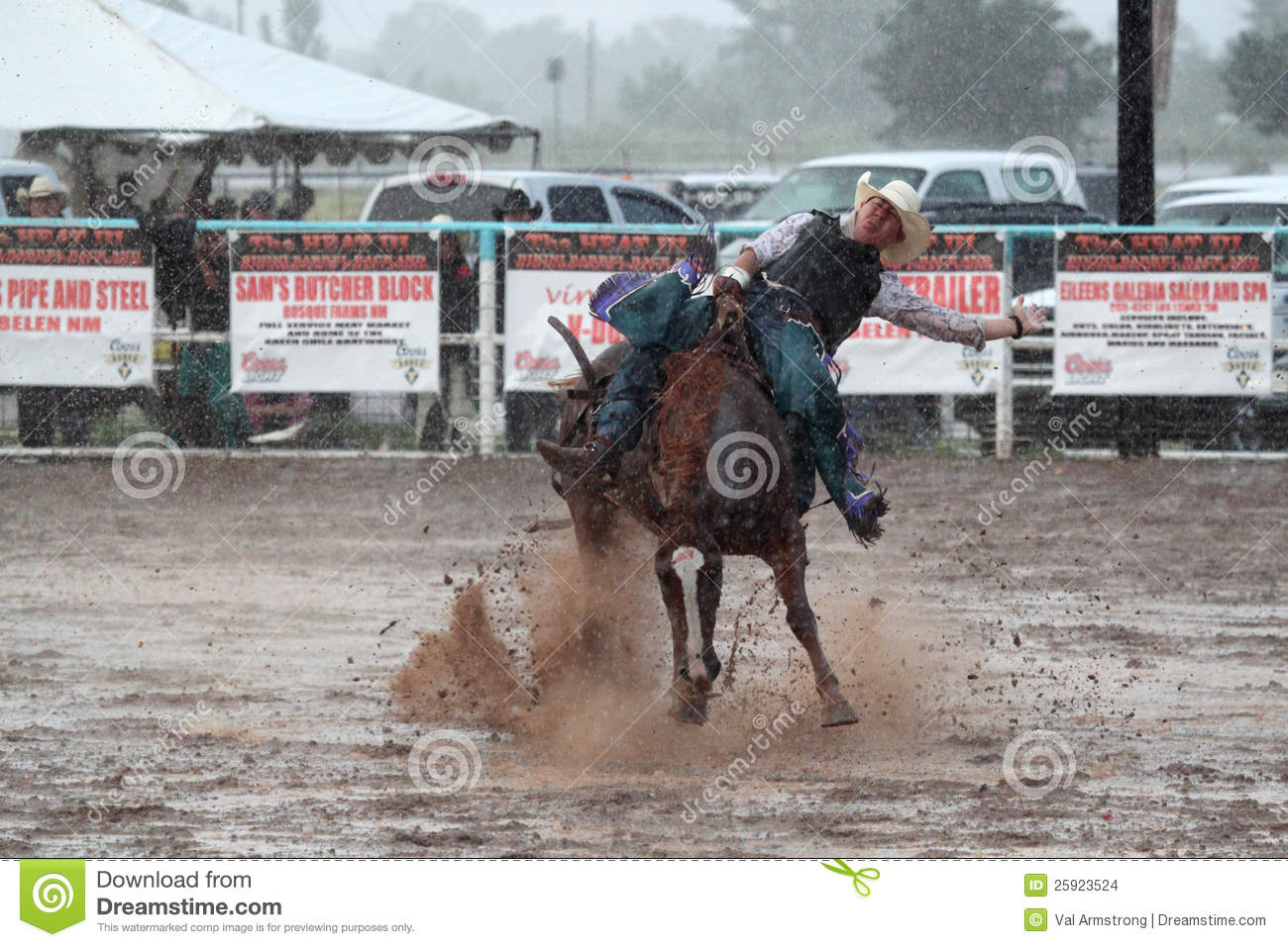 Young Blonde Woman Barrel Racing Stock Image - Image of
