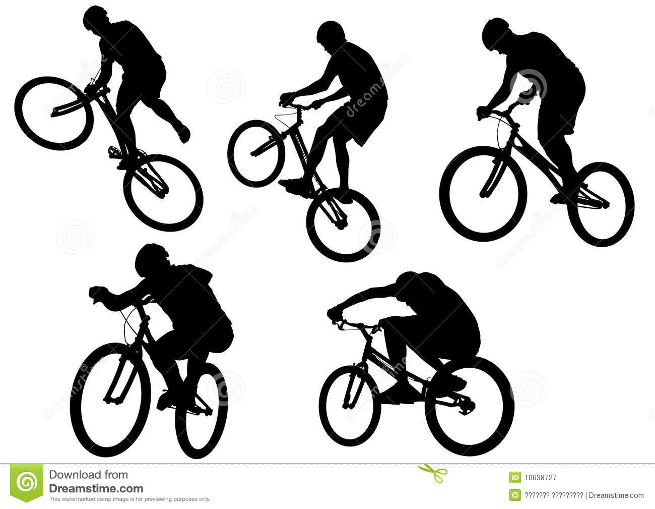 Extreme sport bike stock vector. Image of isolated ...