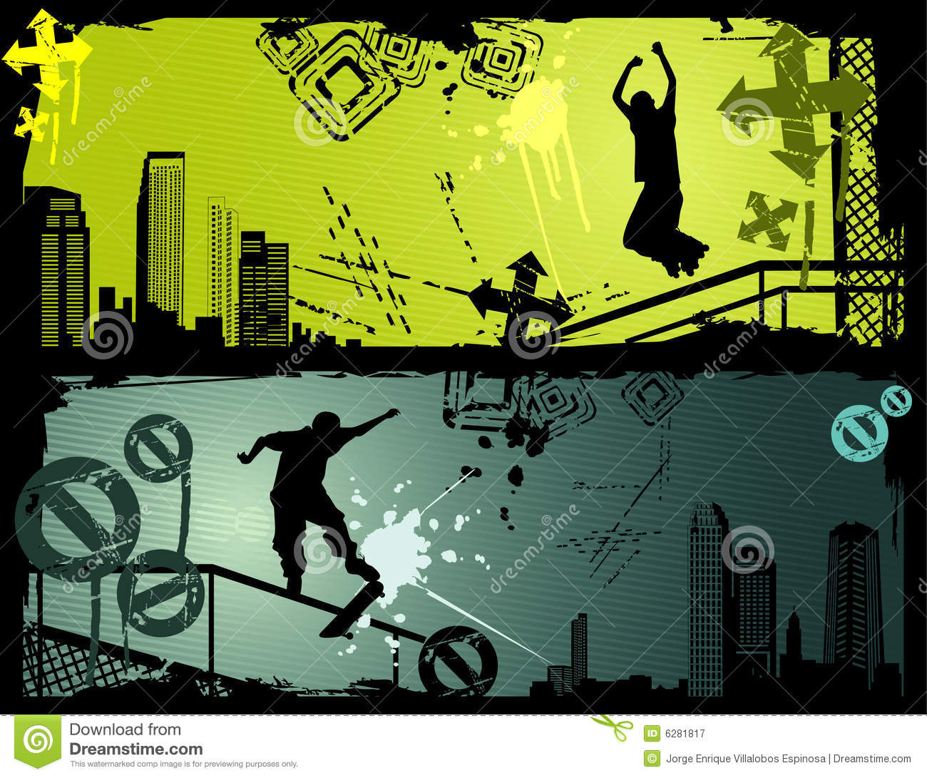 Extreme Sports: Extreme Sports Vector Stock Vector. Image Of Texture