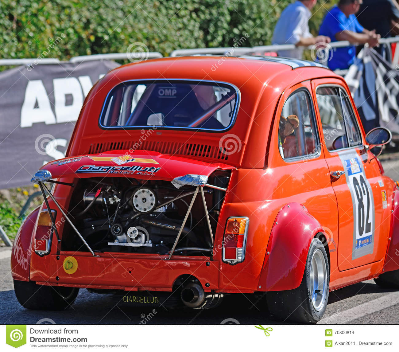 extreme tuning of a fiat 500 in scala piccada race. Black Bedroom Furniture Sets. Home Design Ideas