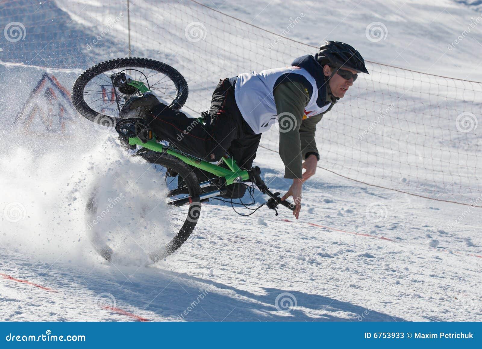 mountainbike snow winter extreme -#main