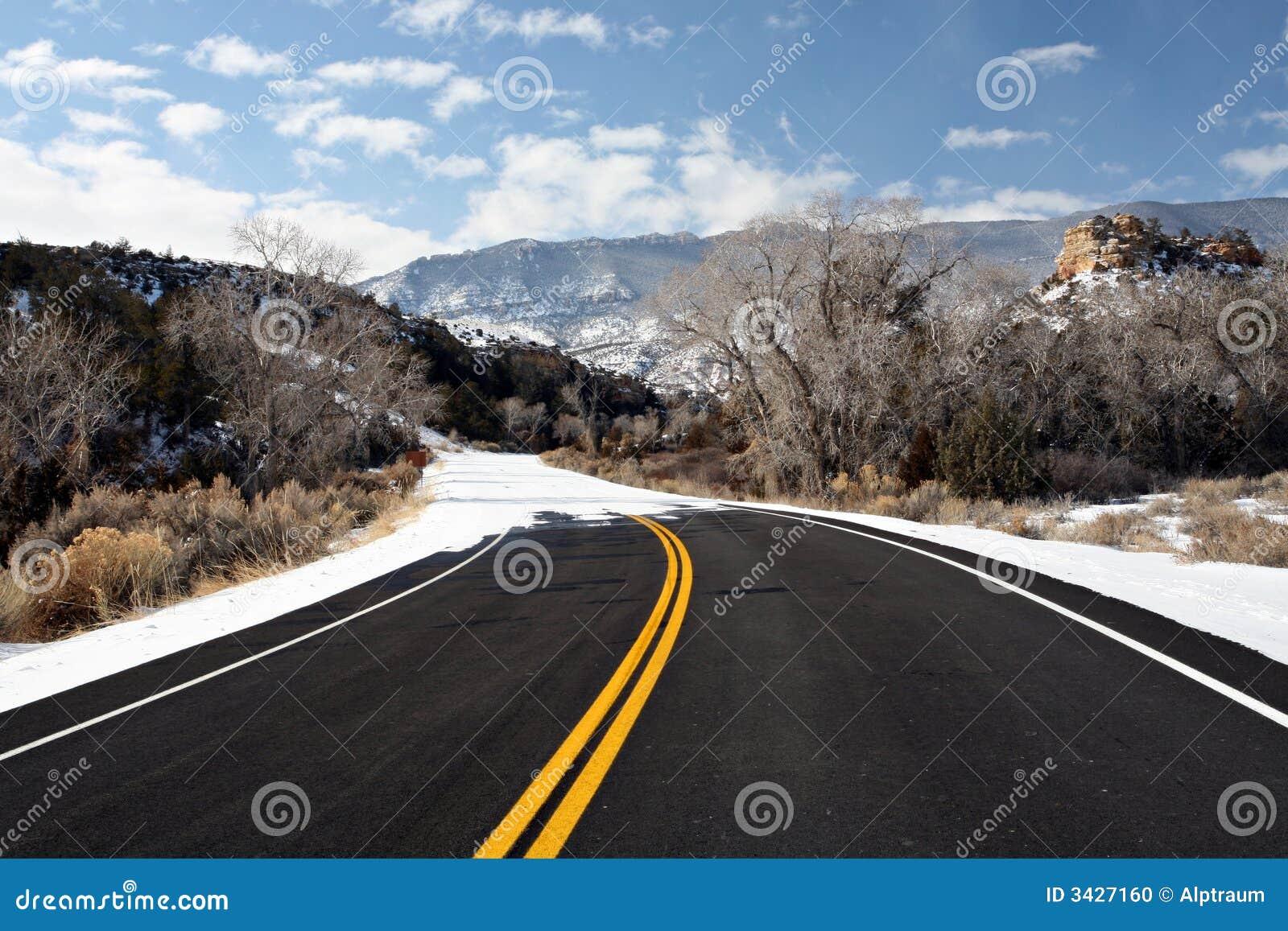 Extremidade da estrada
