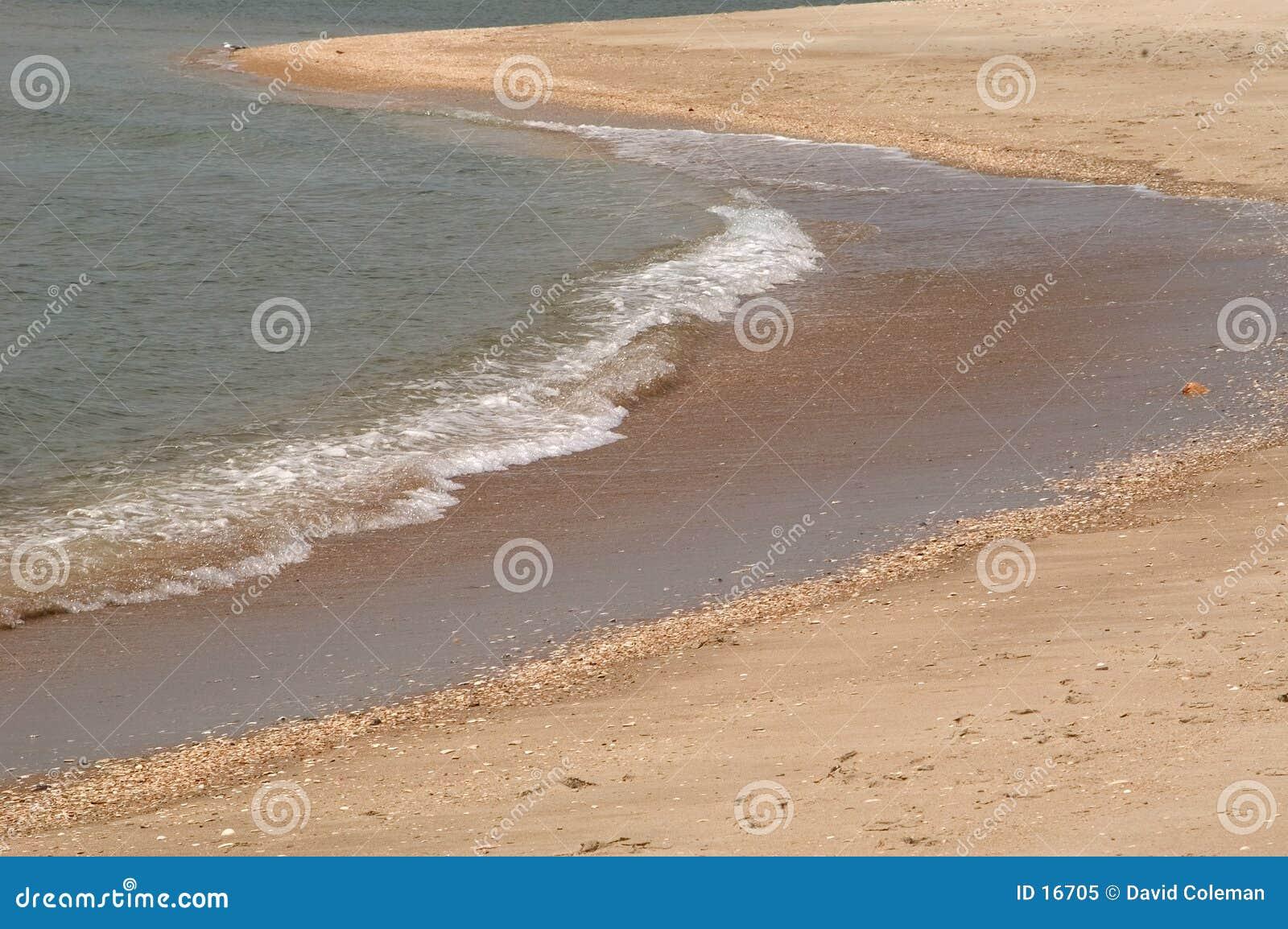 Extremidade de uma onda