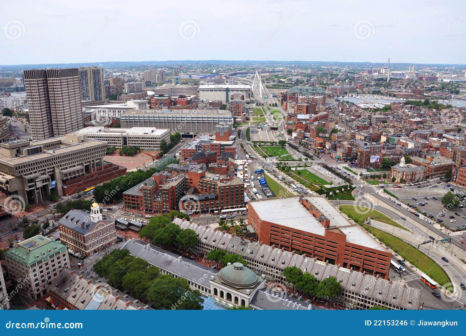 Extremo del norte de Boston, Boston, los E.E.U.U.