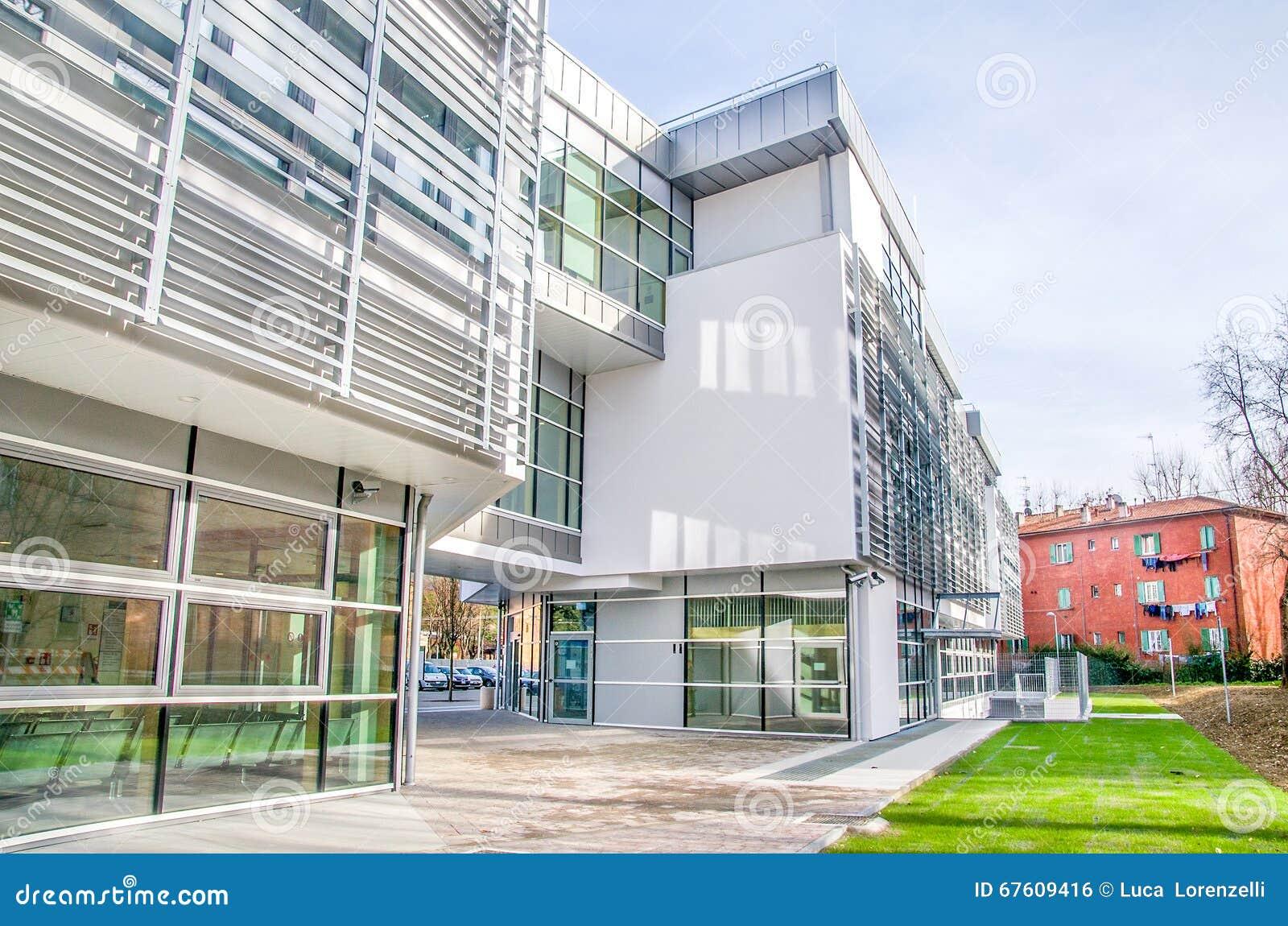 extrieur de construction de clinique moderne d hpital - Hapital Moderne