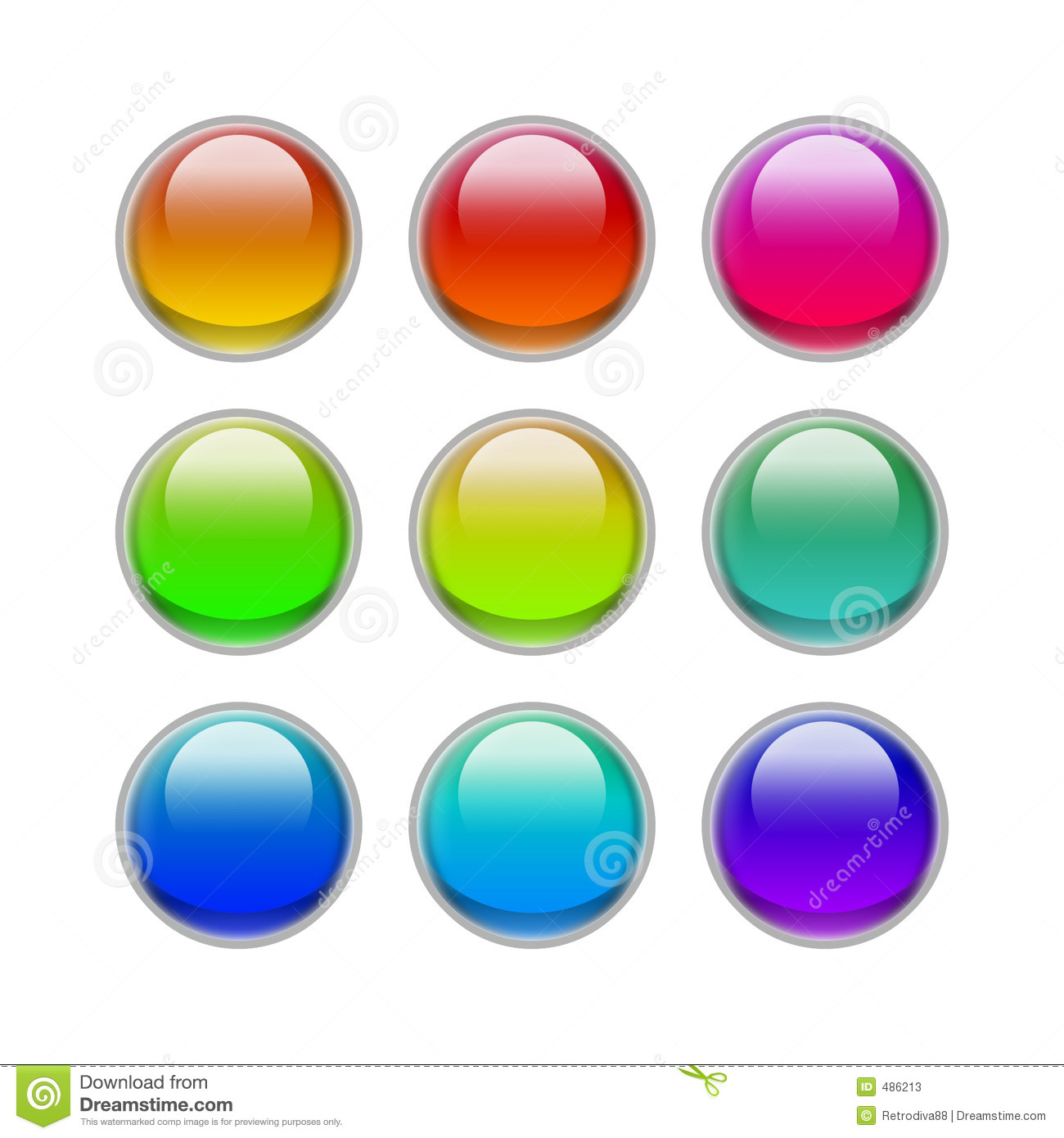 Eye candy buttons