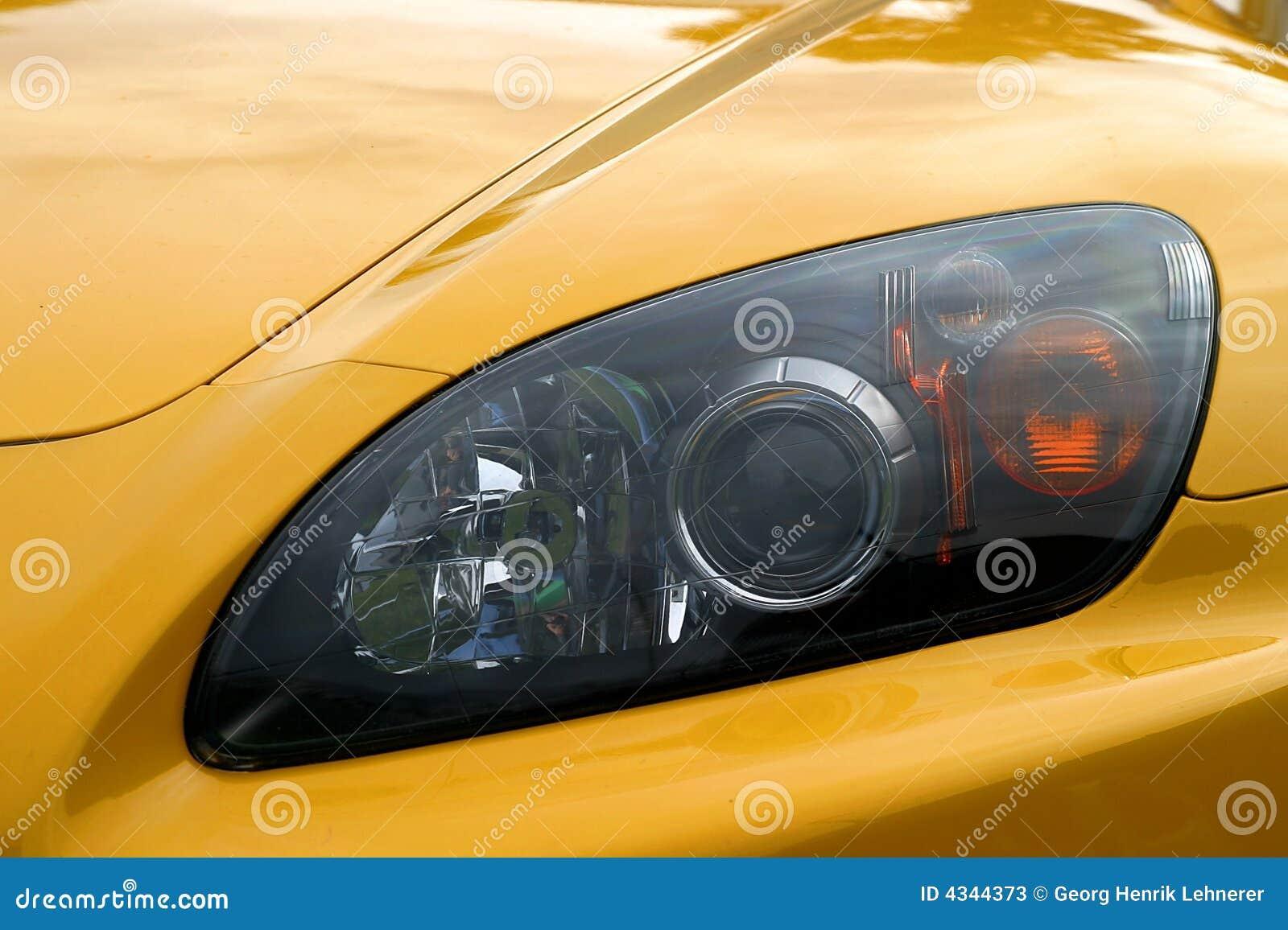Eye Of A Car
