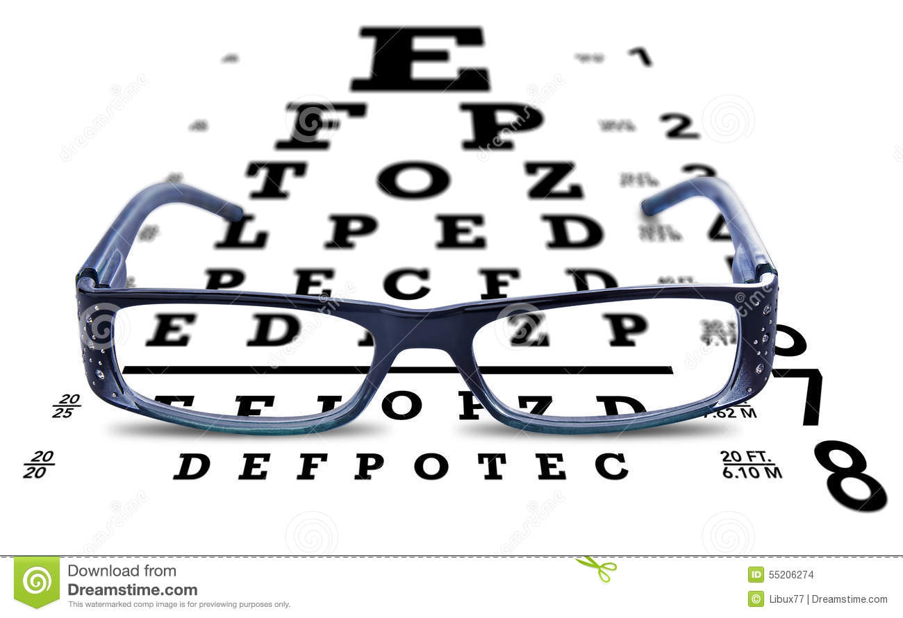 Eye chart glasses spectacles test vision stock photo image of eye chart glasses spectacles test vision geenschuldenfo Image collections