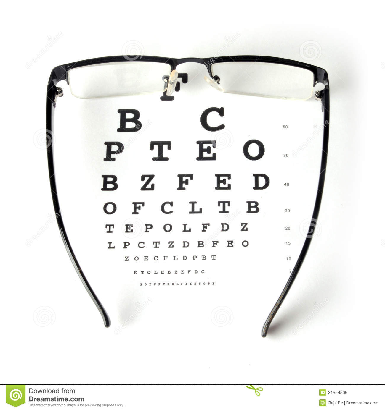 Eye chart test stock image image of glass magnify conceptual eye chart test geenschuldenfo Gallery