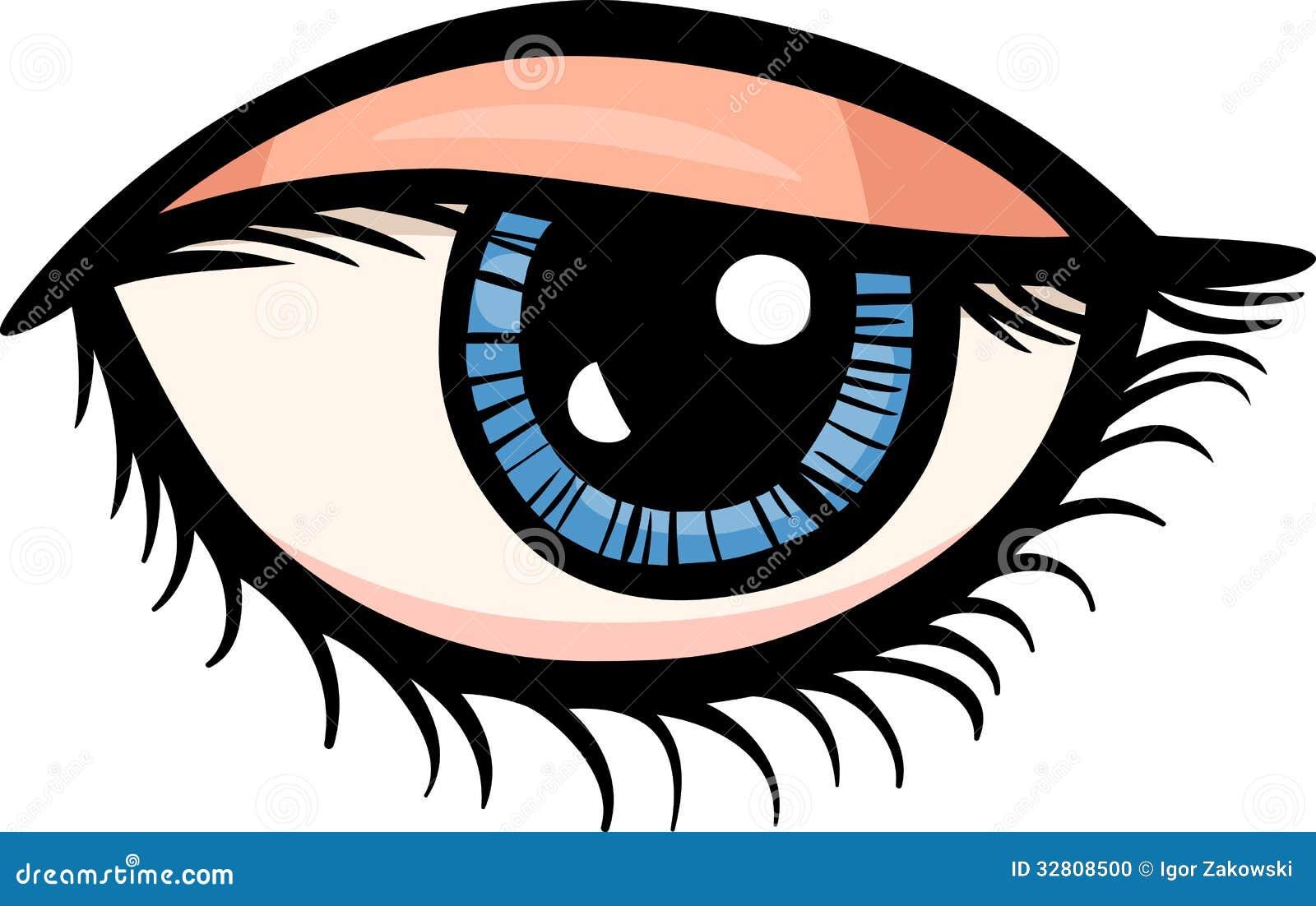 eye clip art cartoon illustration stock vector illustration of rh dreamstime com eye clipart images eyes clip art cartoon