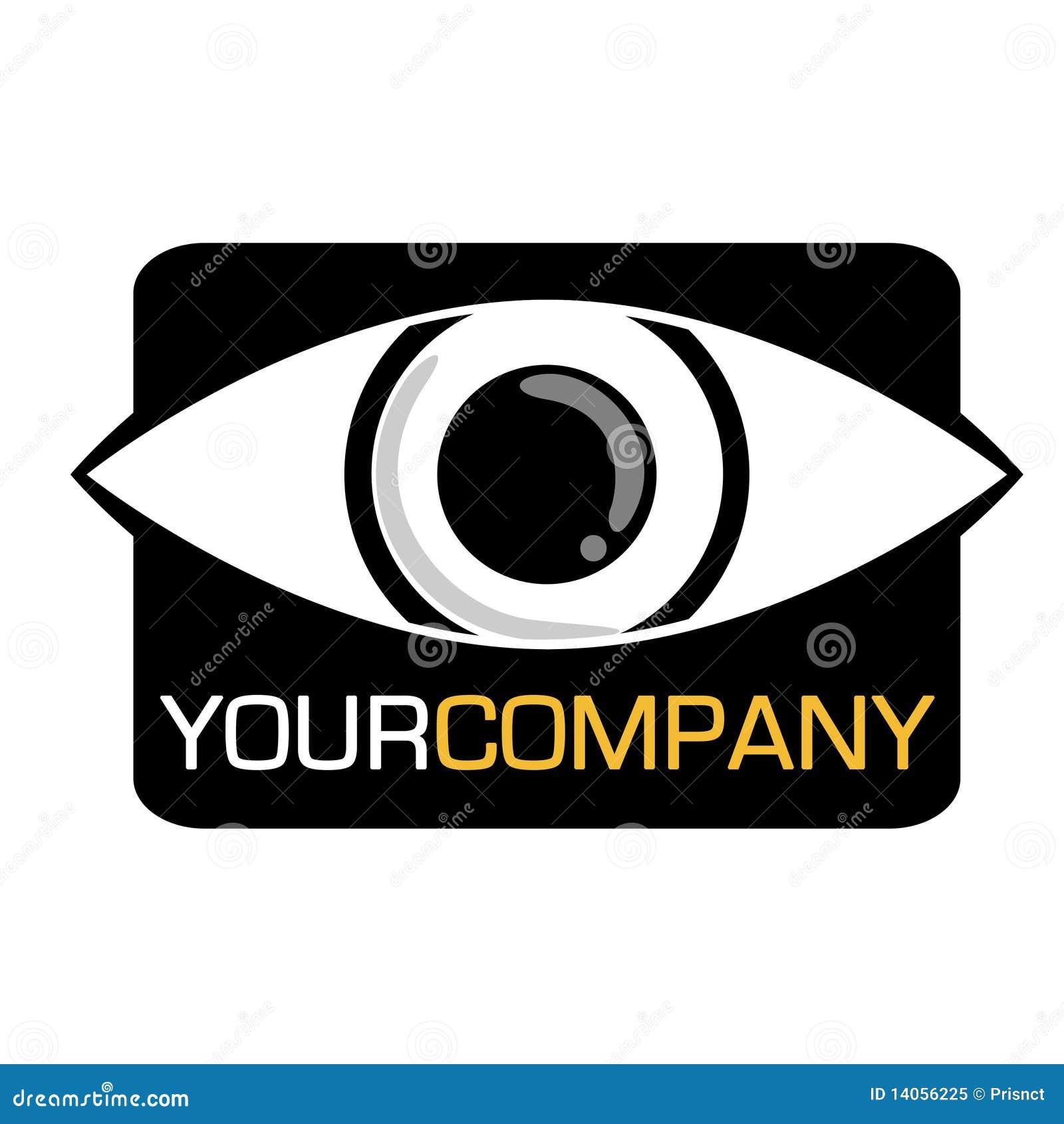 Eye Company Logo stock vector. Illustration of logo ...