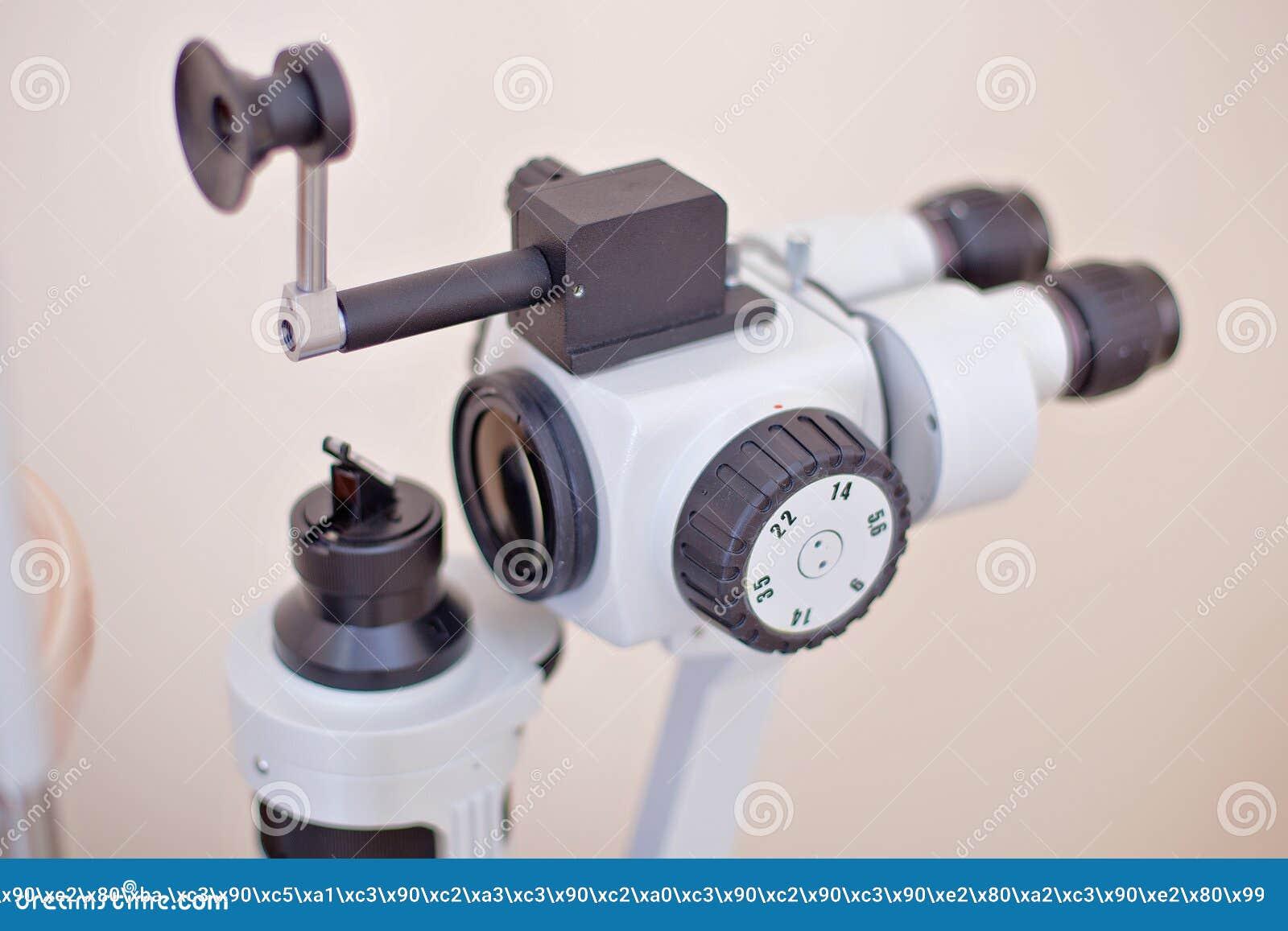 Eye Examination In Oculist Lab Editorial Photo - Image of