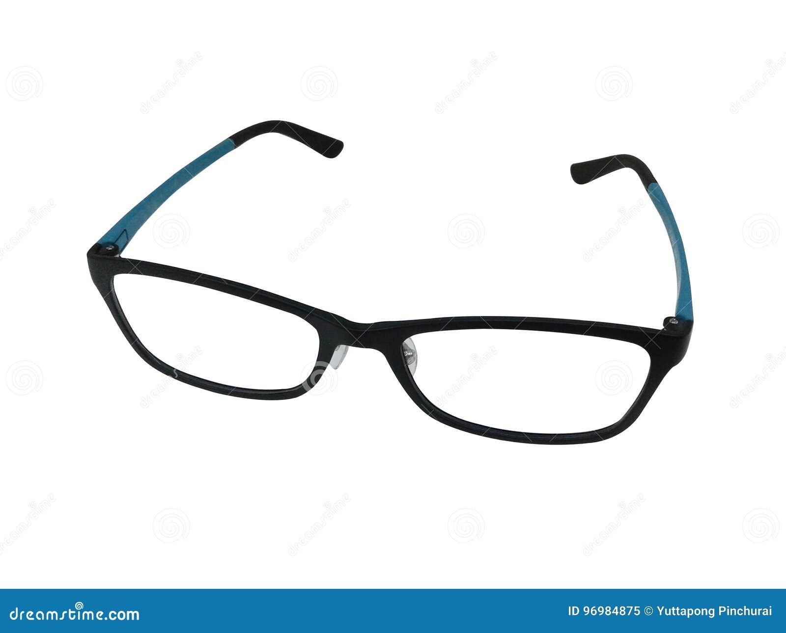 Eye Glasses Fashion Glasses Isolated On White Background