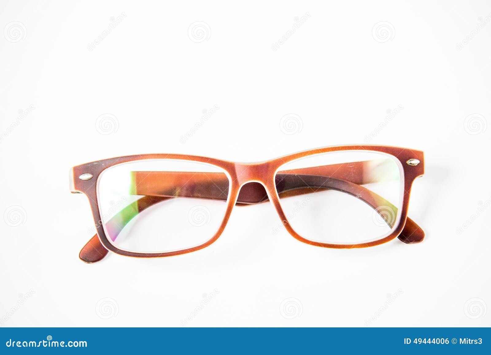 Eye glasses isolated