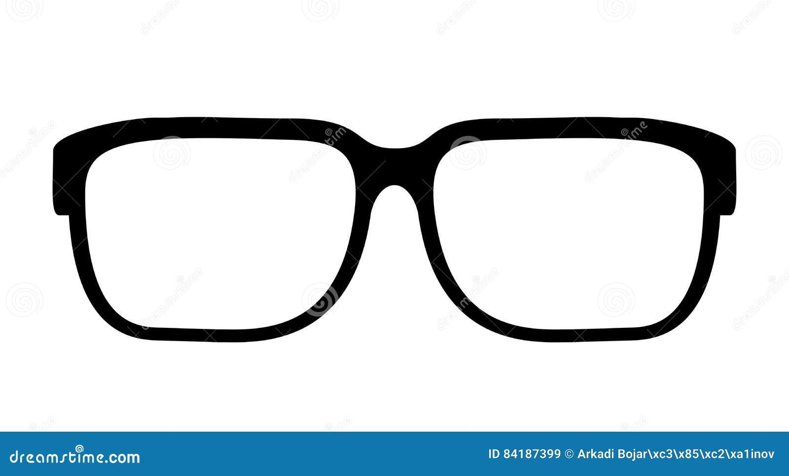 0e895ca43a Eye glasses vector icon stock vector. Illustration of button - 84187399