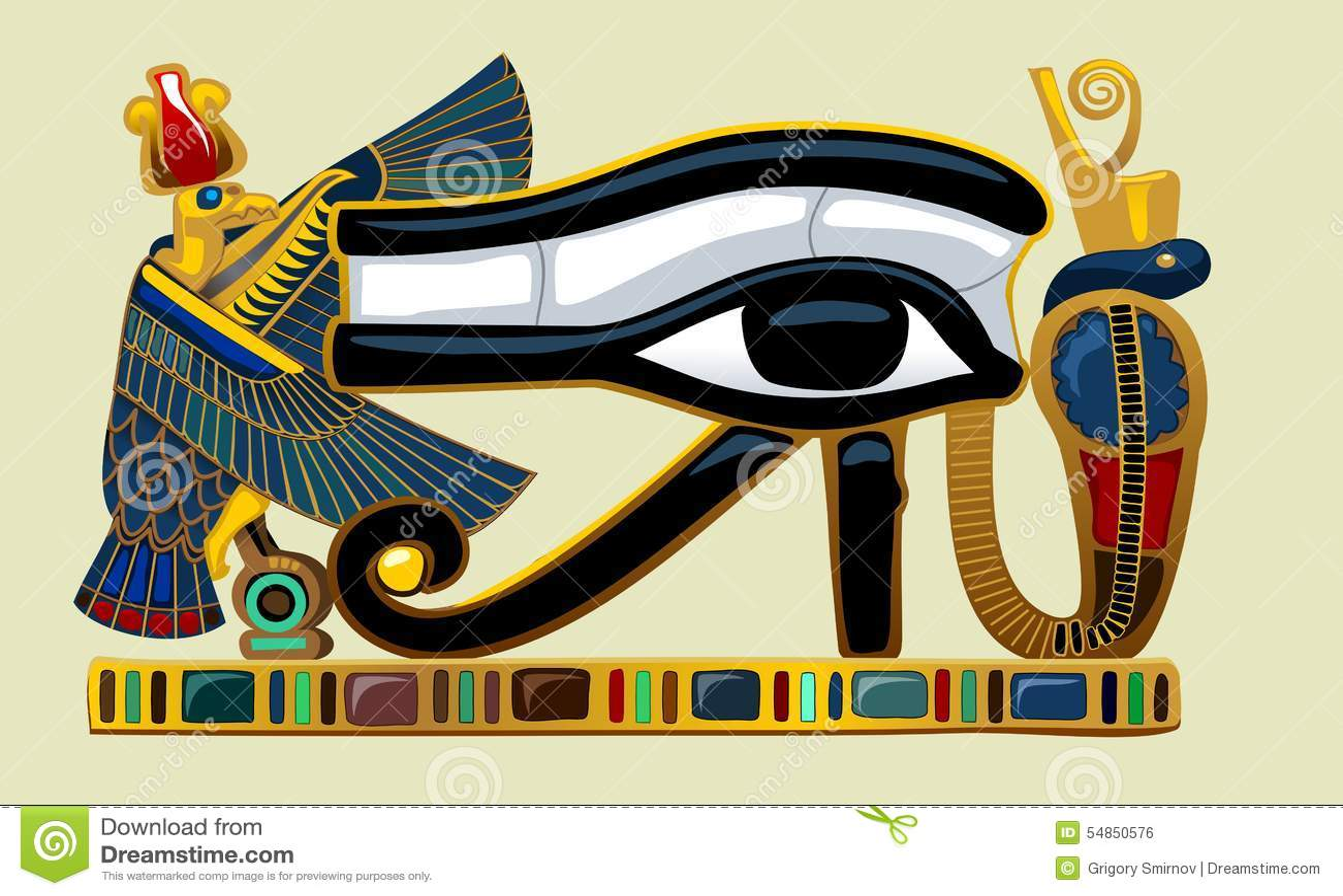 Eye Of Horus Bird