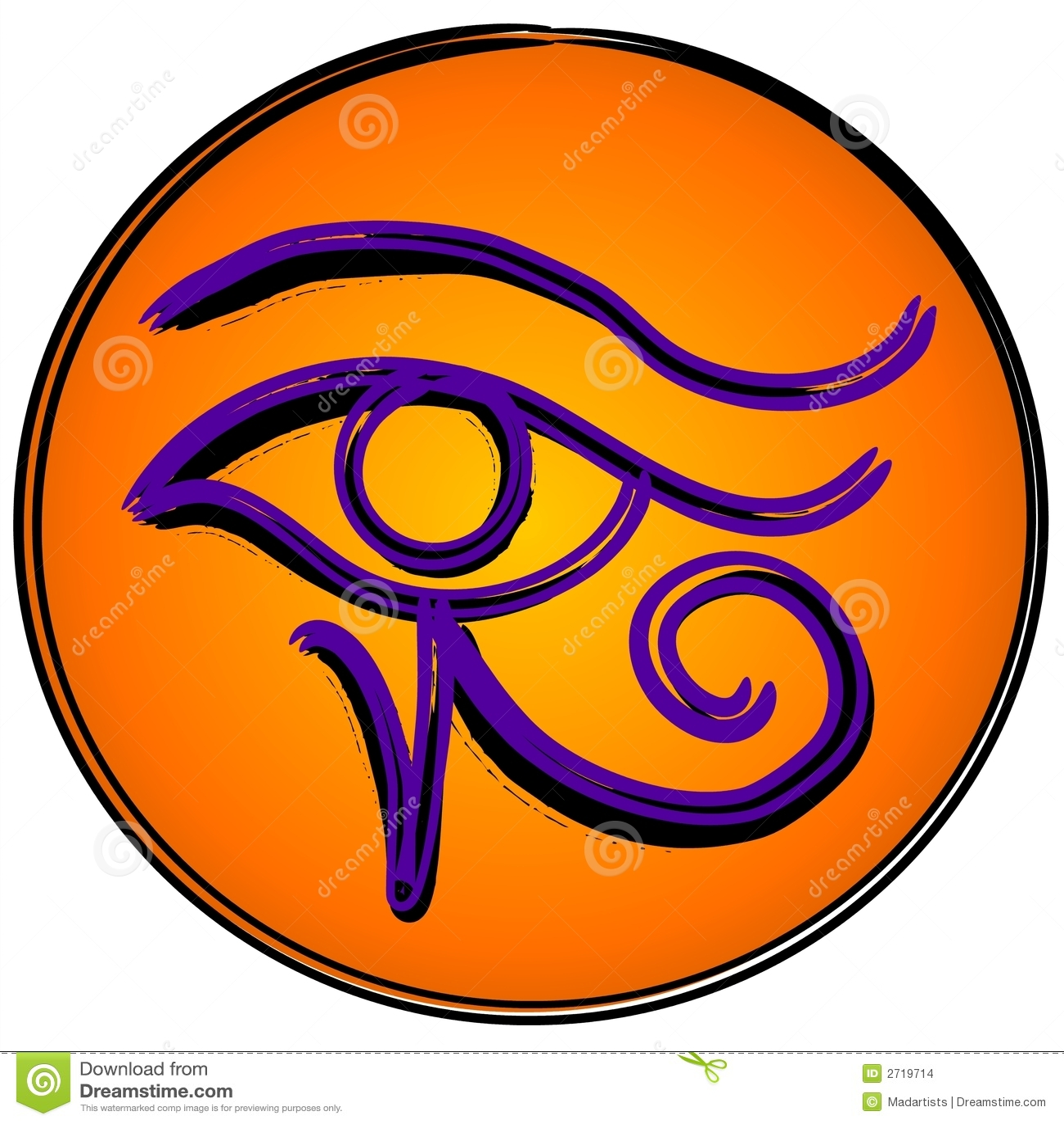 The eye of horus icon symbol stock illustration illustration of the eye of horus icon symbol biocorpaavc Images