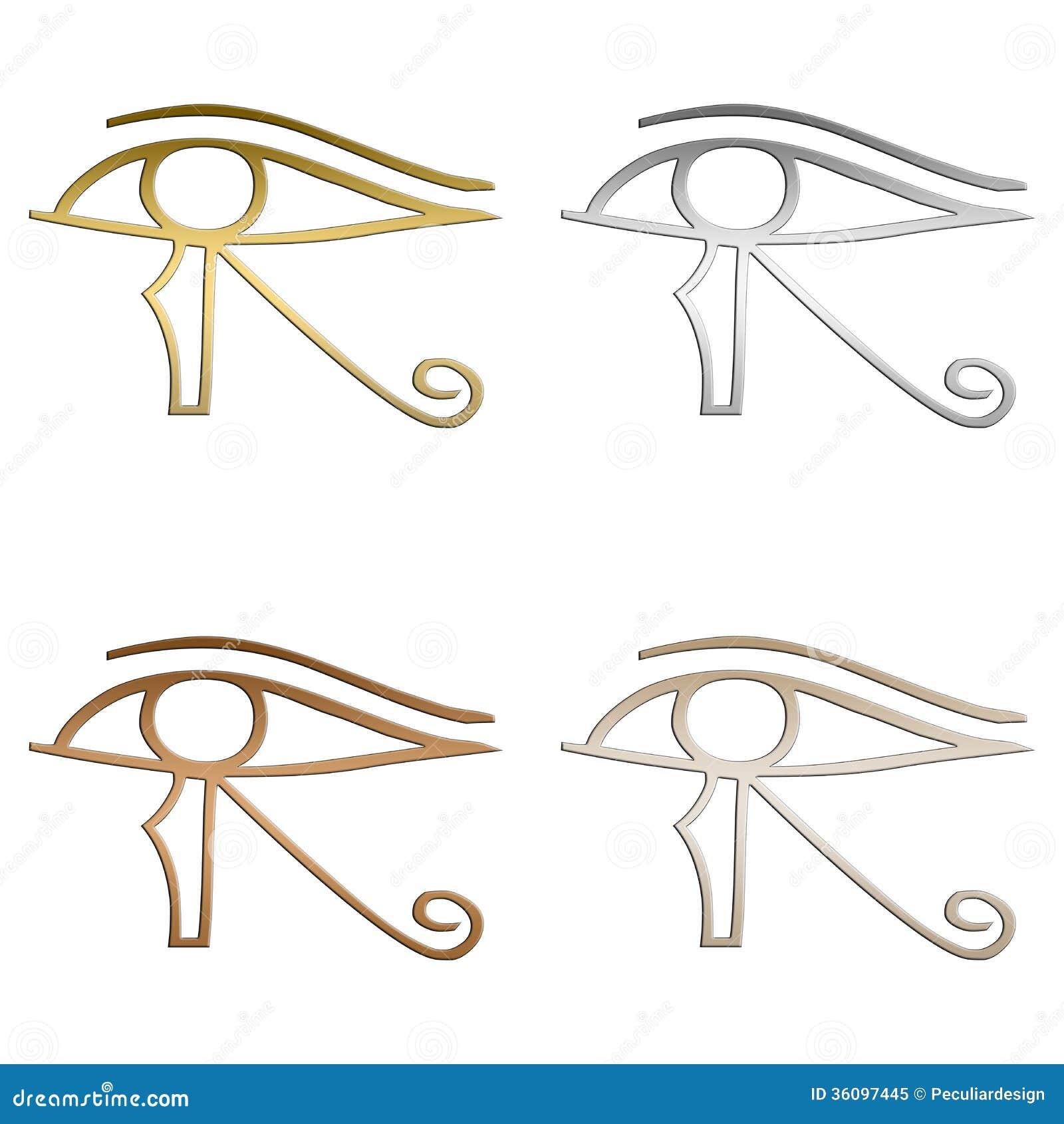 Eye Of Horus Stock Image Illustration Of Egyptians Horus 36097445