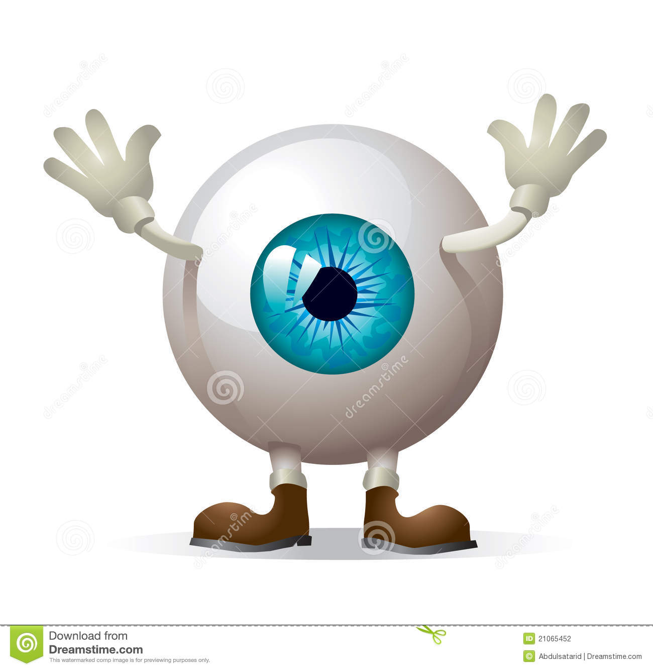 Eye Illustration Stock Photography - Image: 21065452