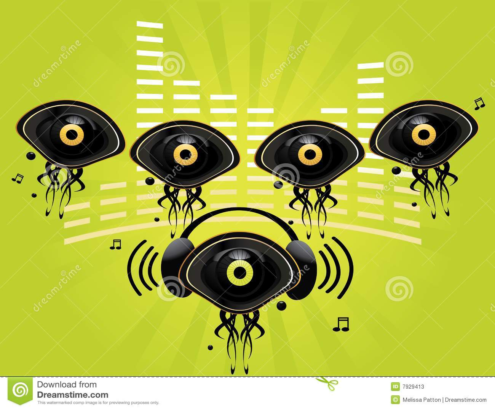Eye l immagine di carattere 6