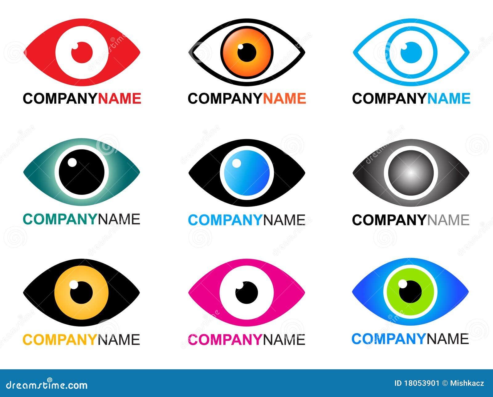 Eye Logo And Icons Stock Image - Image: 18053901