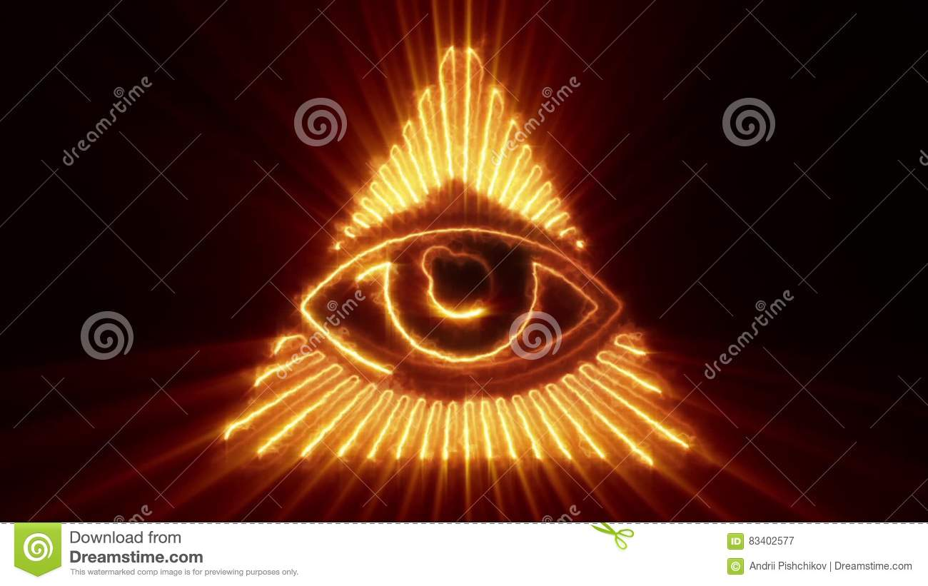 The Eye Of Providence Loop Stock Video Illustration Of Glory 83402577