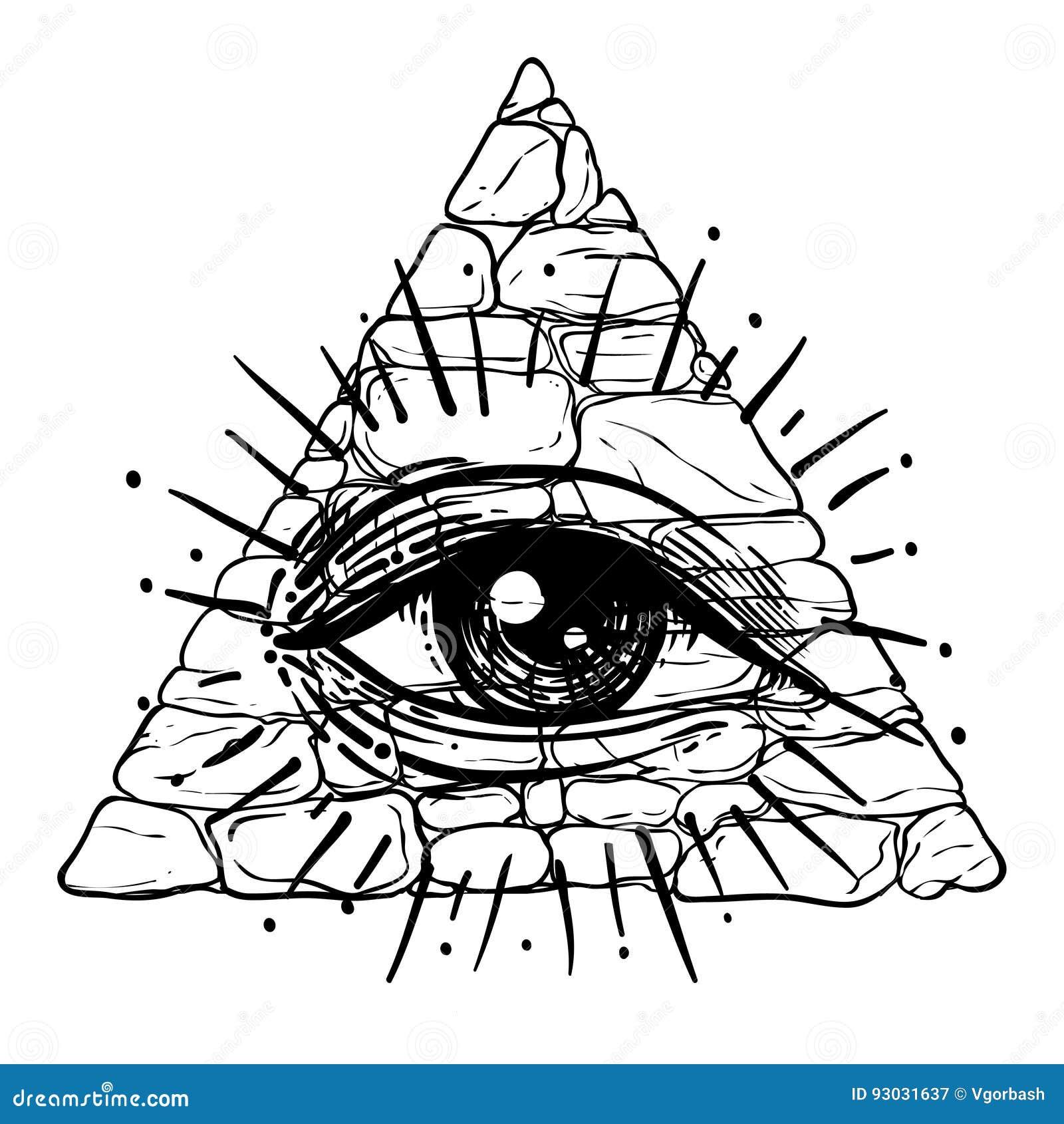 Eye of providence masonic symbol all seeing eye inside triangl masonic symbol all seeing eye inside triangl faith emblem buycottarizona Images