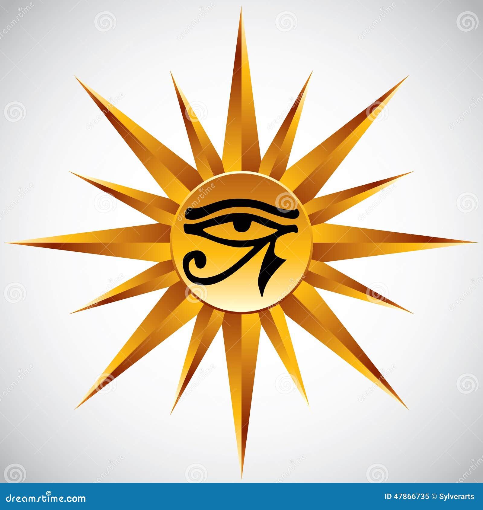 eye of horus sun