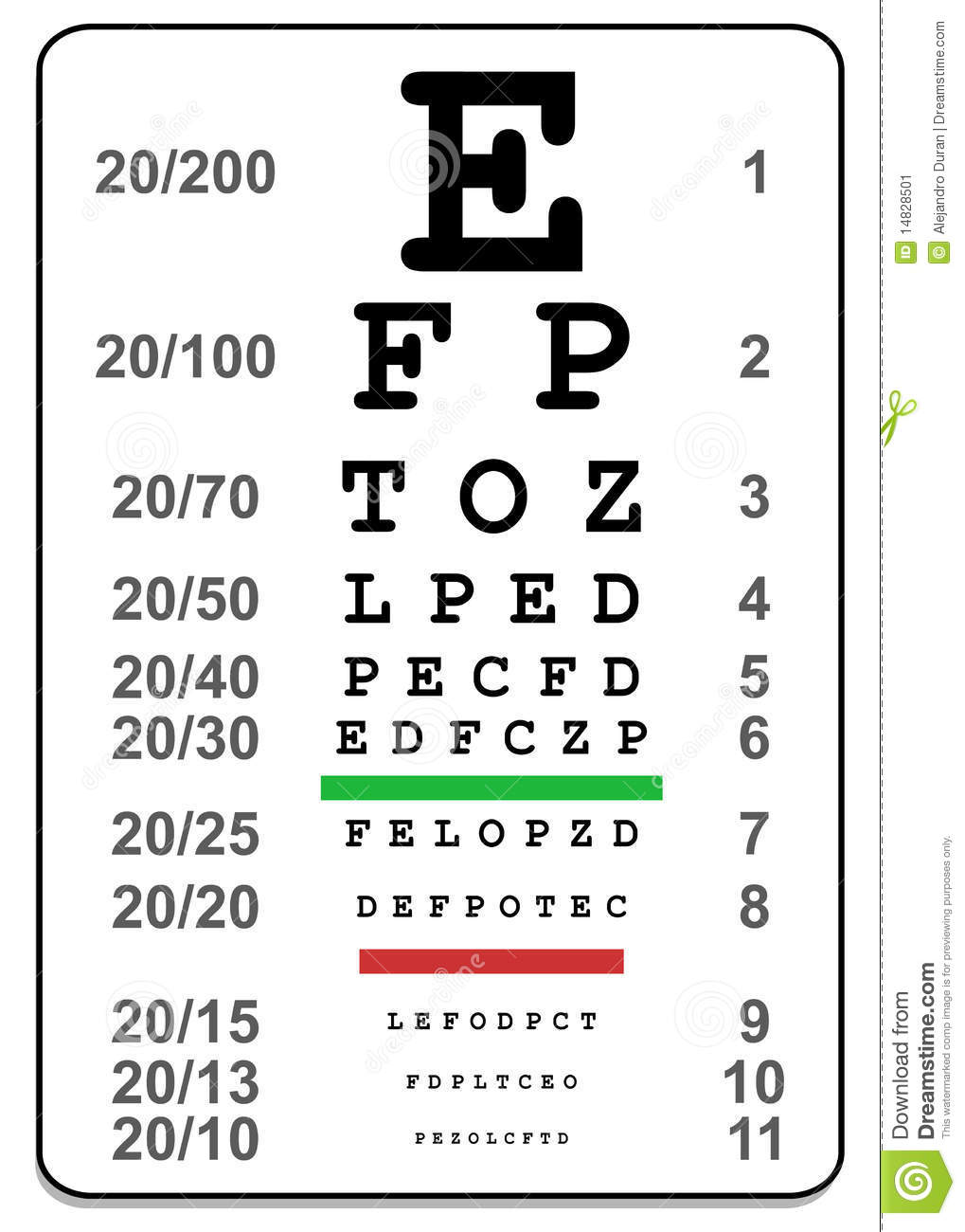 Eye exam chart images image collections chart design ideas eye test chart stock vector illustration of impaired 14828501 eye test chart geenschuldenfo image collections geenschuldenfo Images