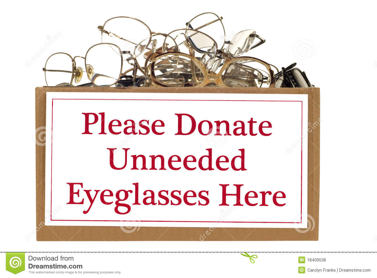 Eyeglass Donation Box Royalty Free Stock Photos - Image ...