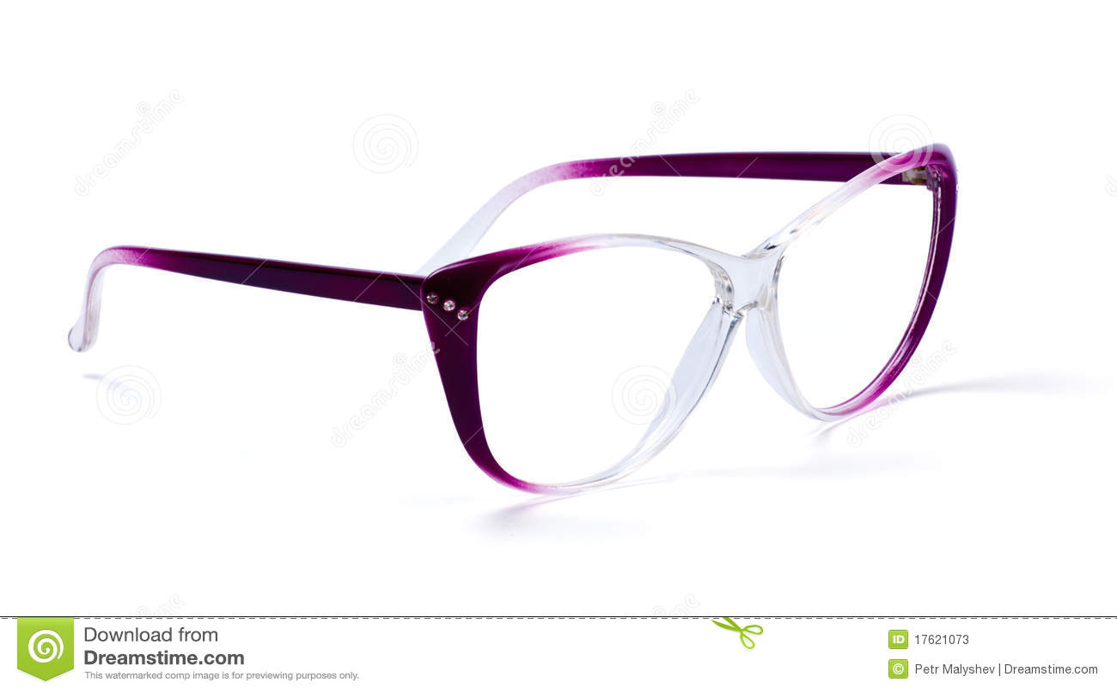 Eyeglasses пурпуровые
