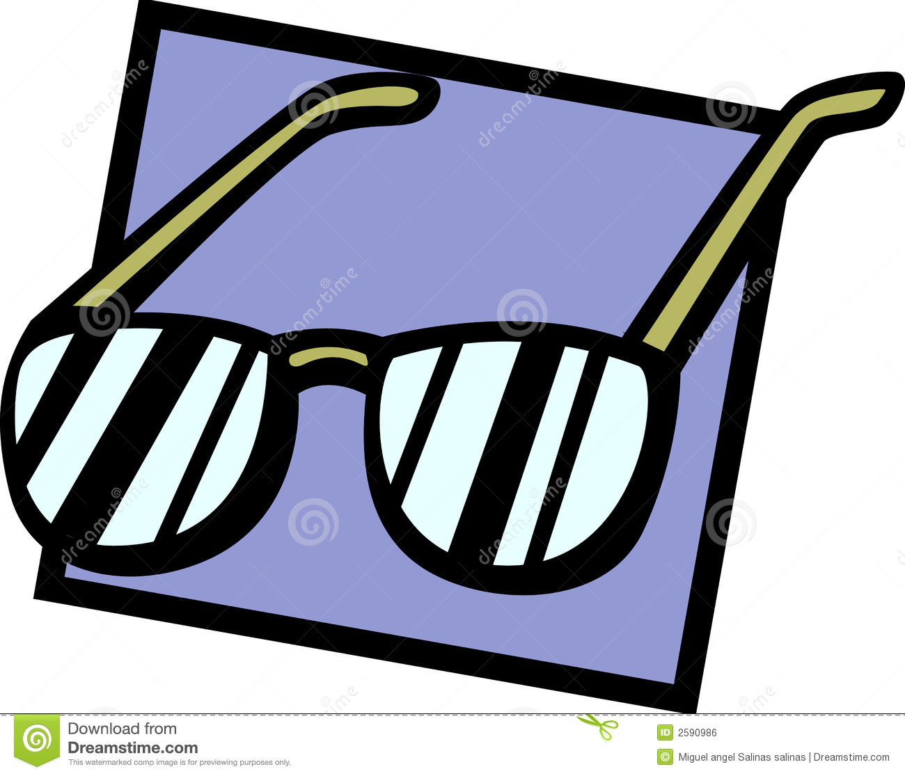 Eyeglasses Or Sunglasses Vector Illustration Royalty Free ...
