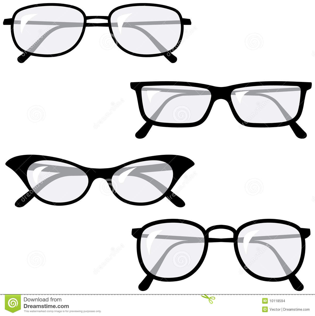 Eyeglasses Vector Illustrations Stock Images - Image ...