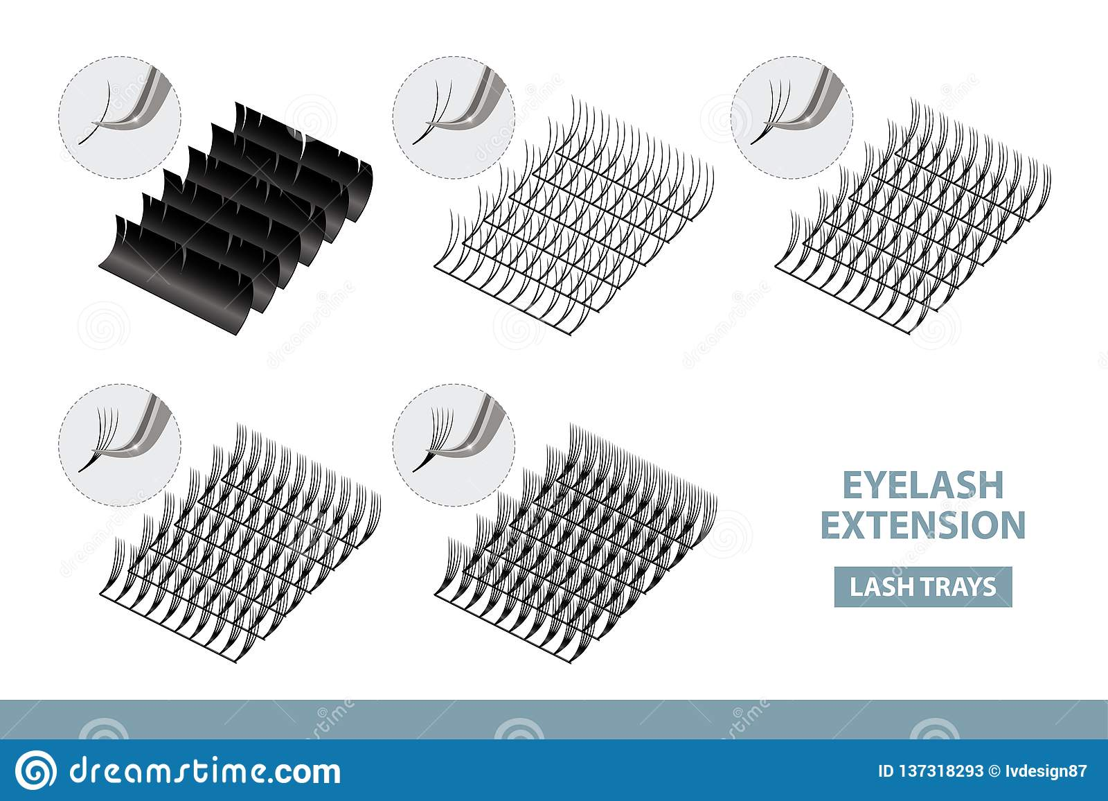 Eyelash Extension Application Tools And Supplies  Volume