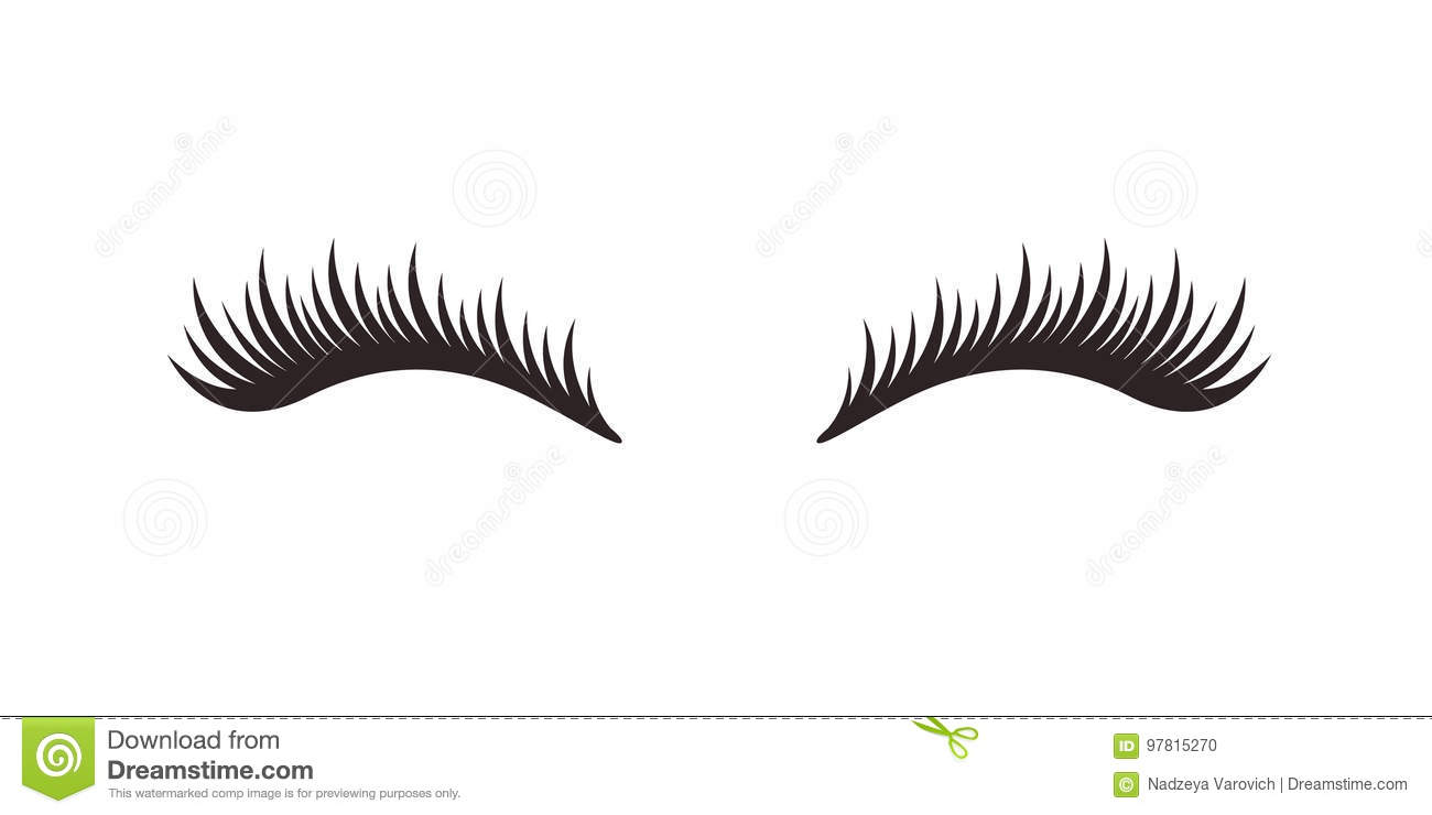 eyelashes coloring pages - photo#43