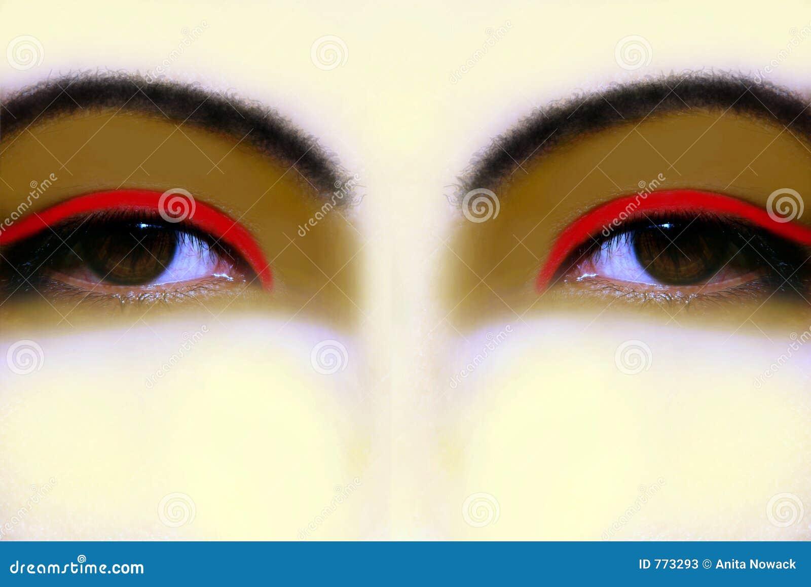 Eyes вычурное