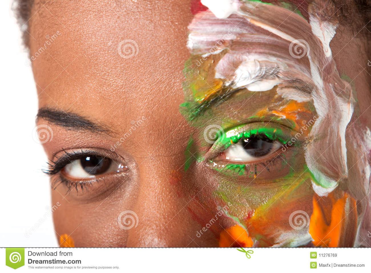 Eyes and facepaint