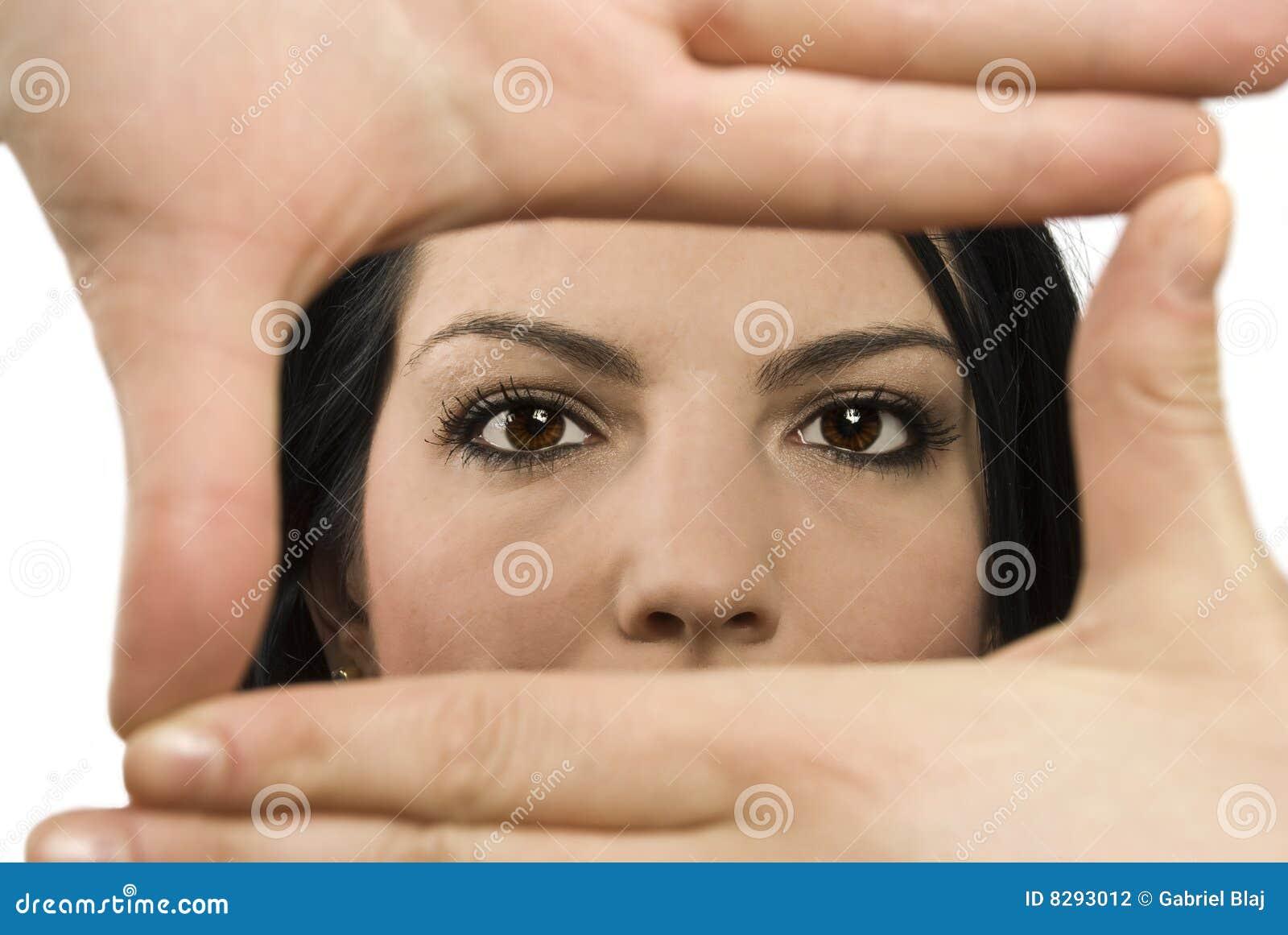 Eyes frame