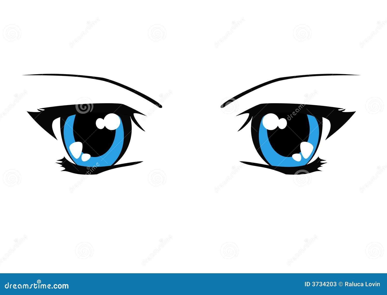 Sexy eyes illustration