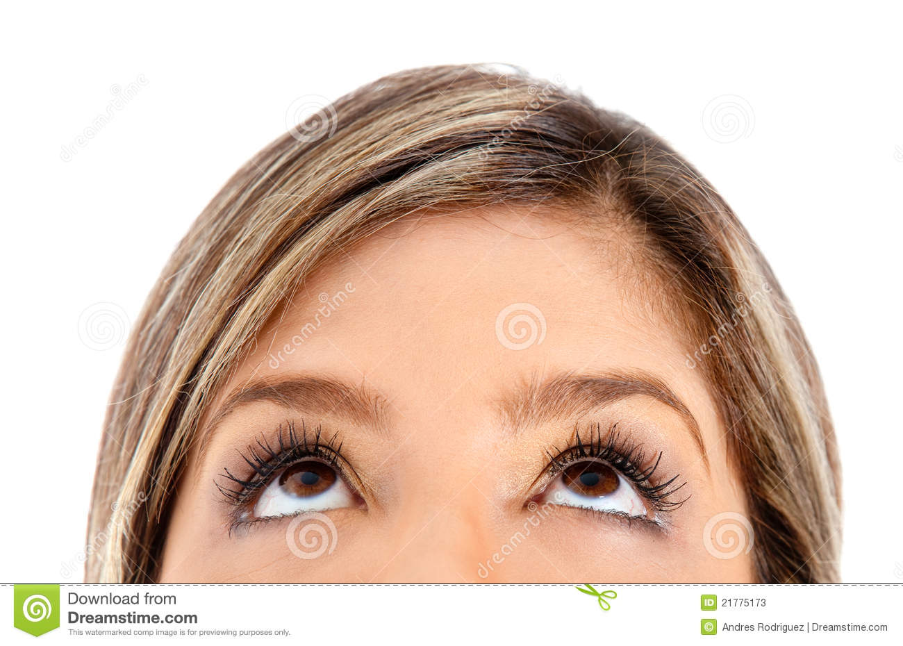 Http Www Dreamstime Com Stock Photos Eyes Looking Up Image21775173