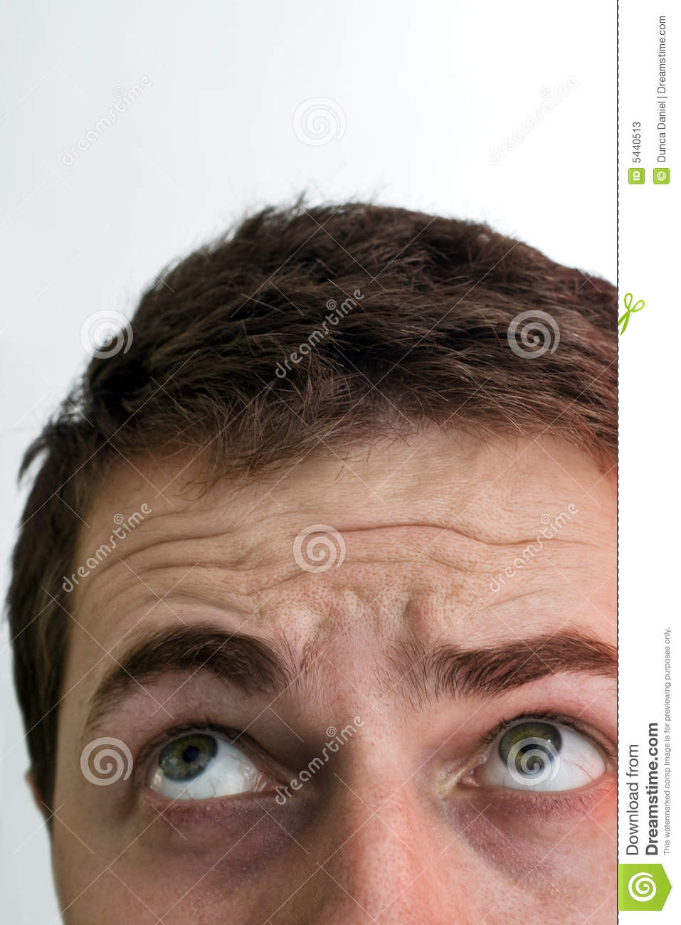 Eyes Of Man Looking Up And Above Stock Image Image Of Concept Copy 5440513 Use custom templates to tell the right story for your business. dreamstime com
