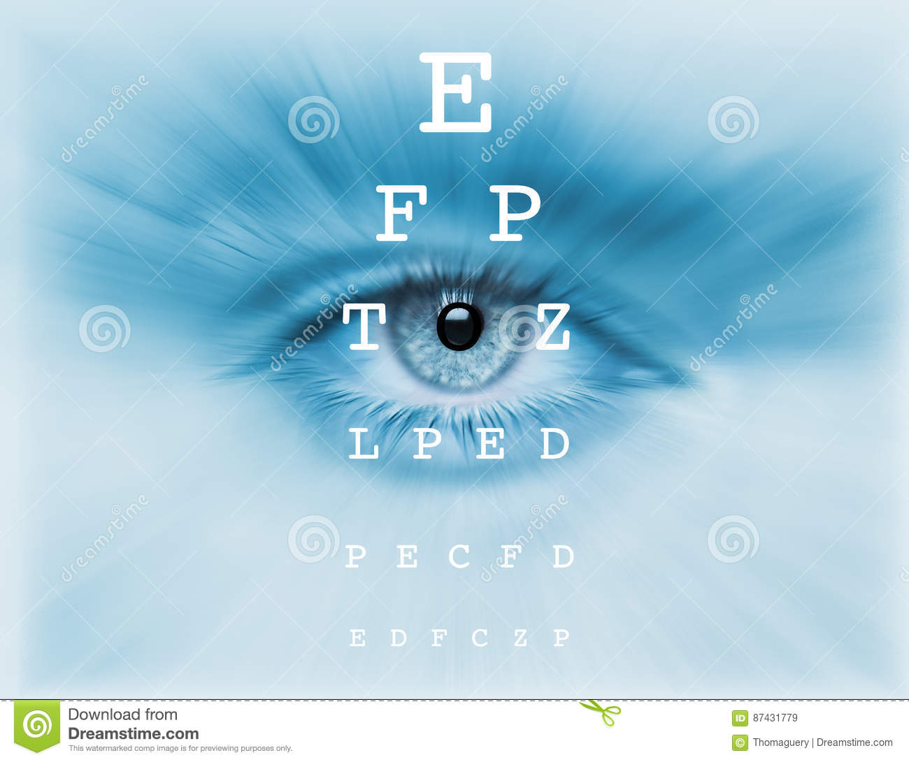 Eyes test chart stock illustration illustration of eyes 87431779 vision eye test chart geenschuldenfo Image collections